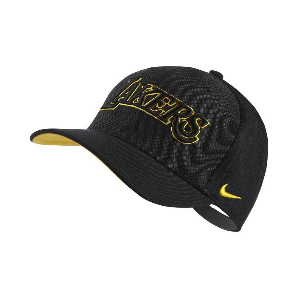 Nike. Men s Los Angeles Lakers City Edition Classic99 Nba Hat (black) ... 79390299168b