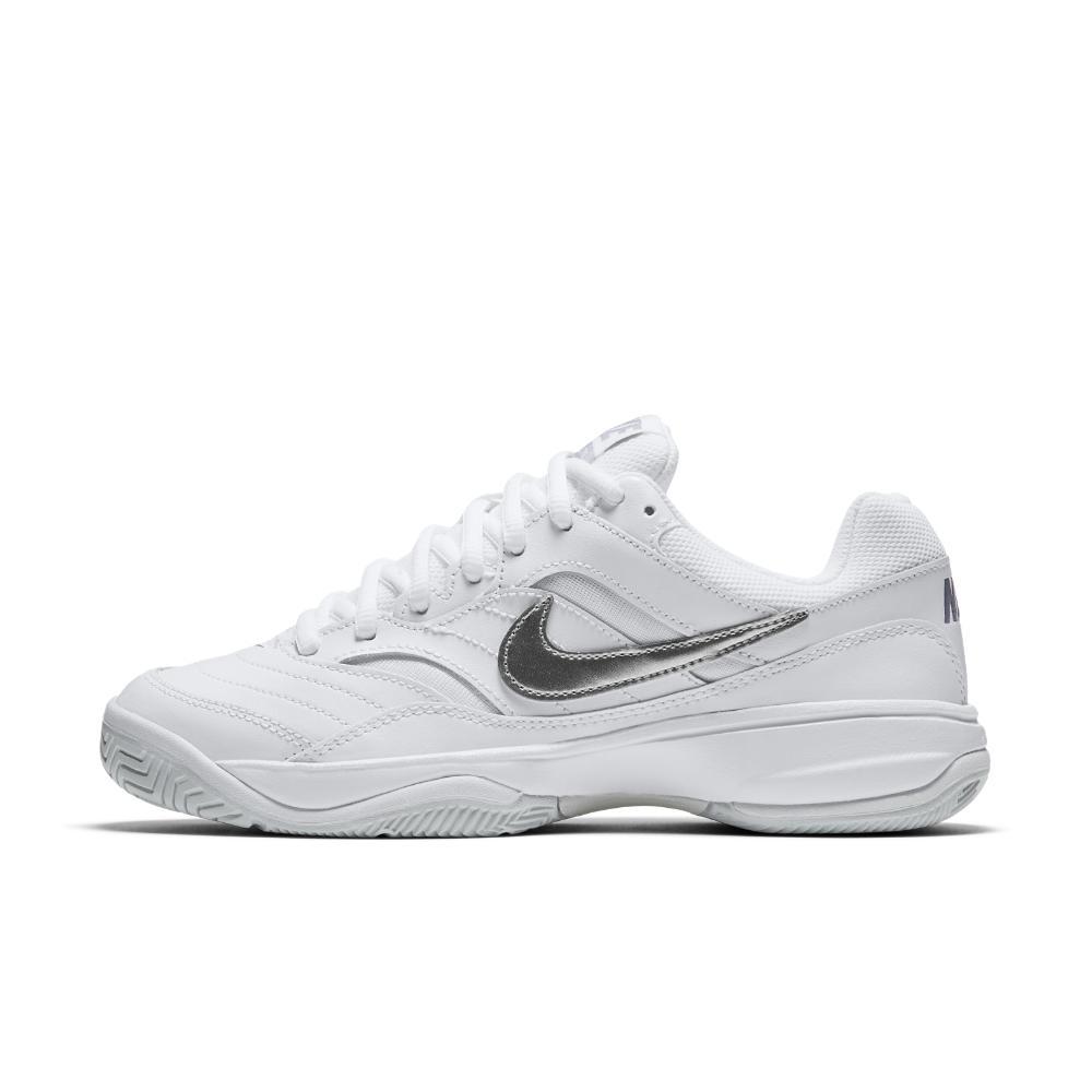 sports shoes b3d52 b92a1 Lyst - Nike Court Lite Hard Court Tennis Shoe in White