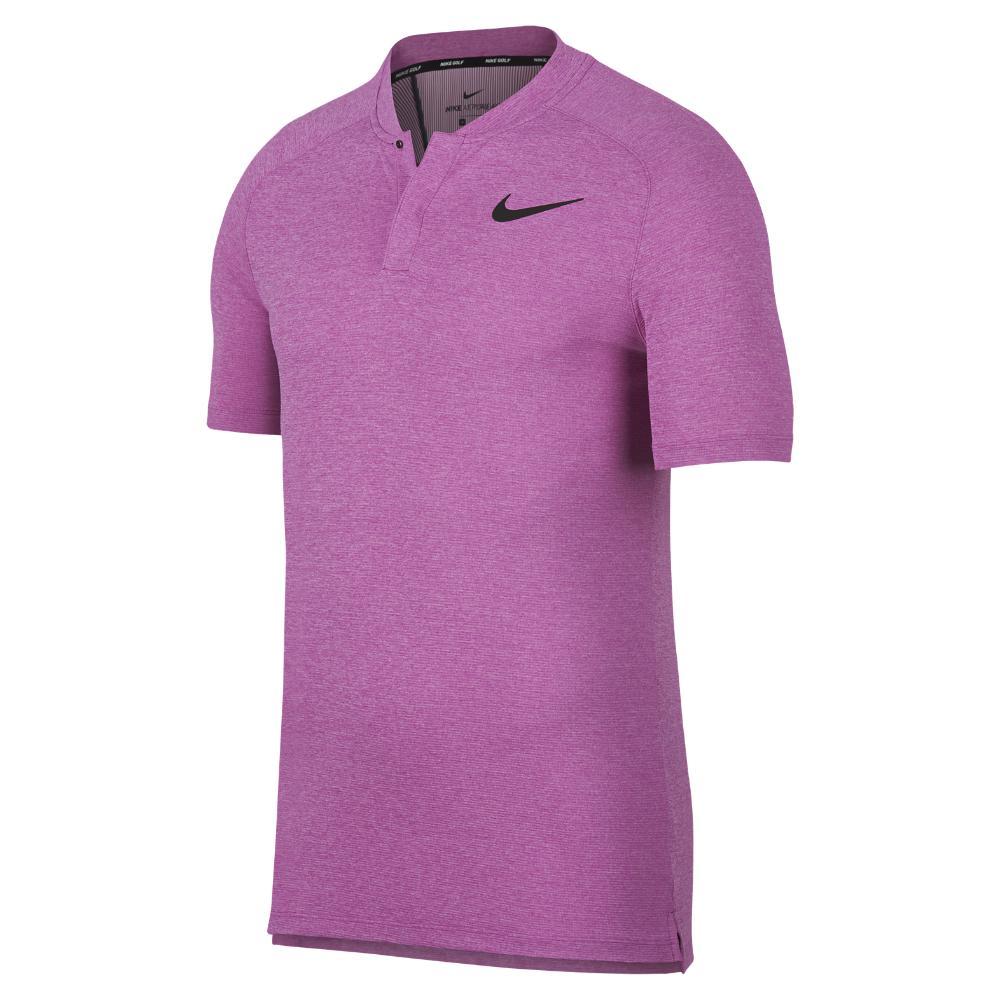 f82dd668 Nike Aeroreact Momentum Men's Slim Fit Golf Polo Shirt in Purple for ...