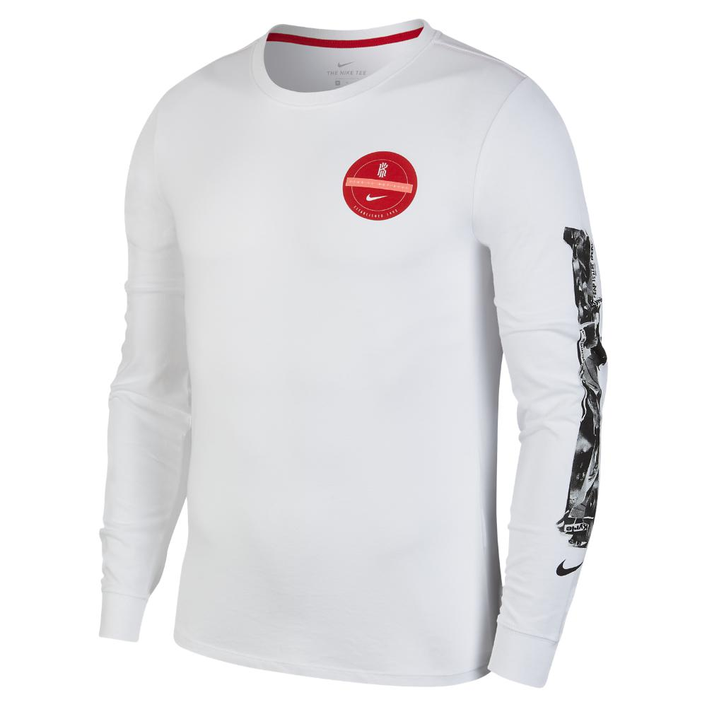 e1d1df023f3c Nike Dri-fit Kyrie Men s Long Sleeve Basketball T-shirt in White for ...