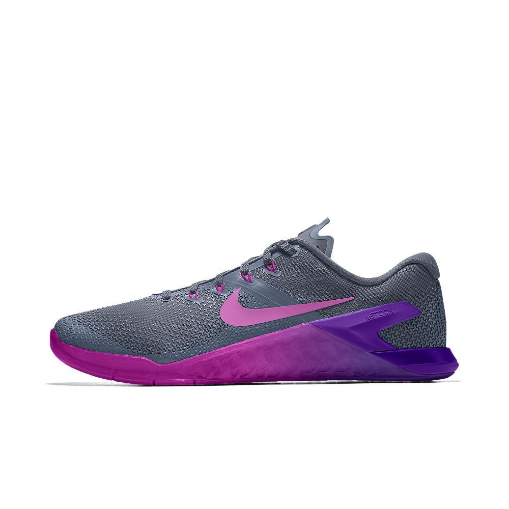 c0099c7e963c Lyst - Nike Metcon 4 Id Women s Training Shoe in Purple