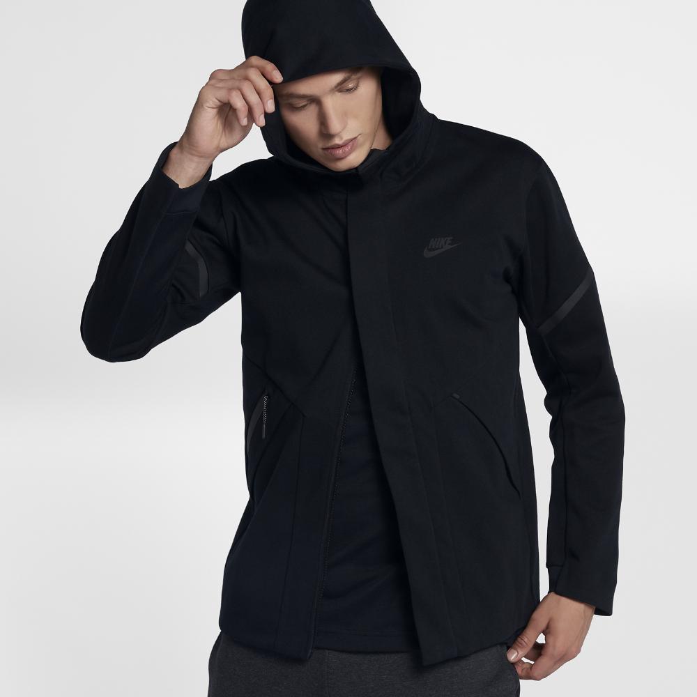 9d599f3ea52e Lyst - Nike Sportswear Tech Fleece Repel Windrunner Men s Jacket in ...