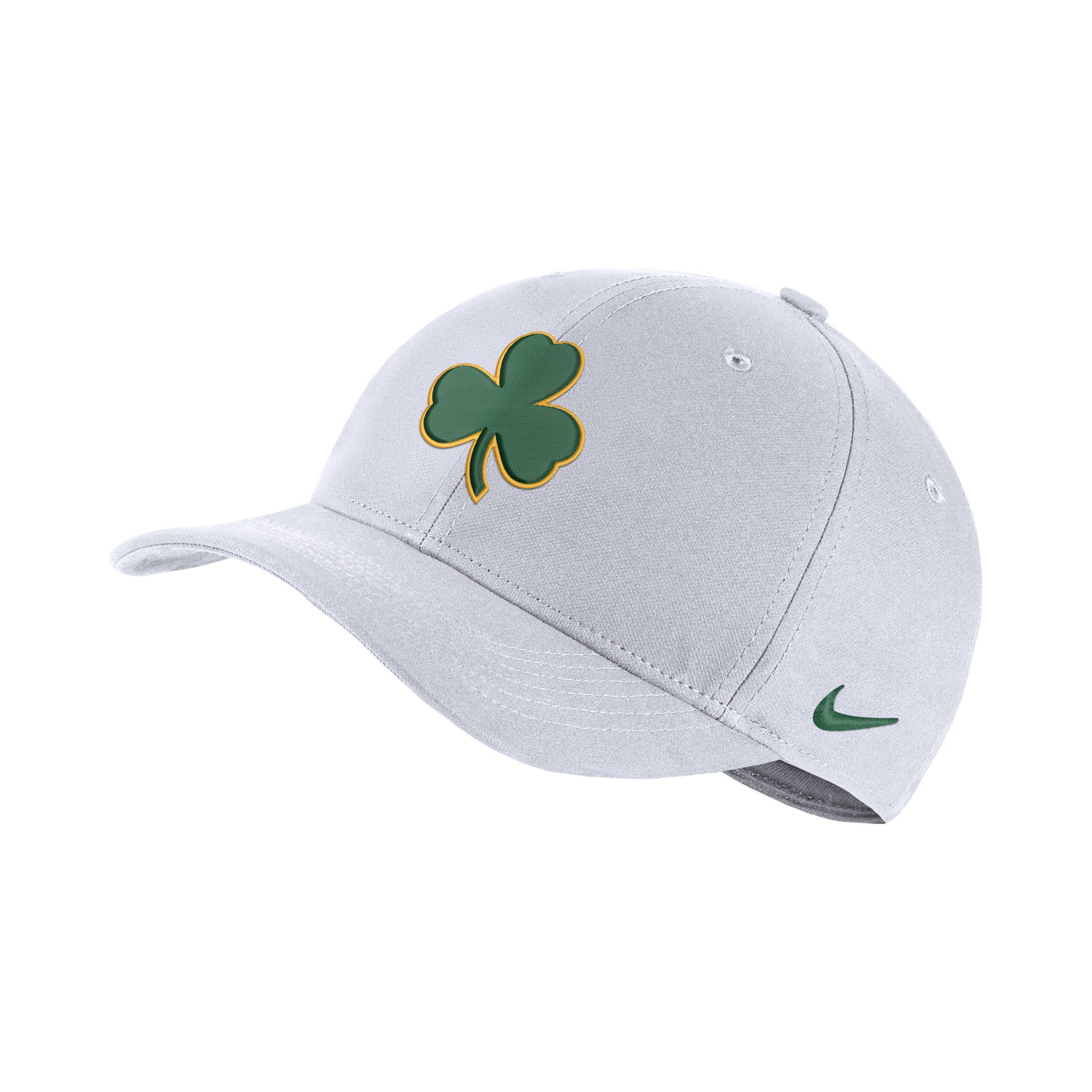 2257757cc42772 Nike Boston Celtics City Edition Aerobill Classic99 Nba Hat in White ...