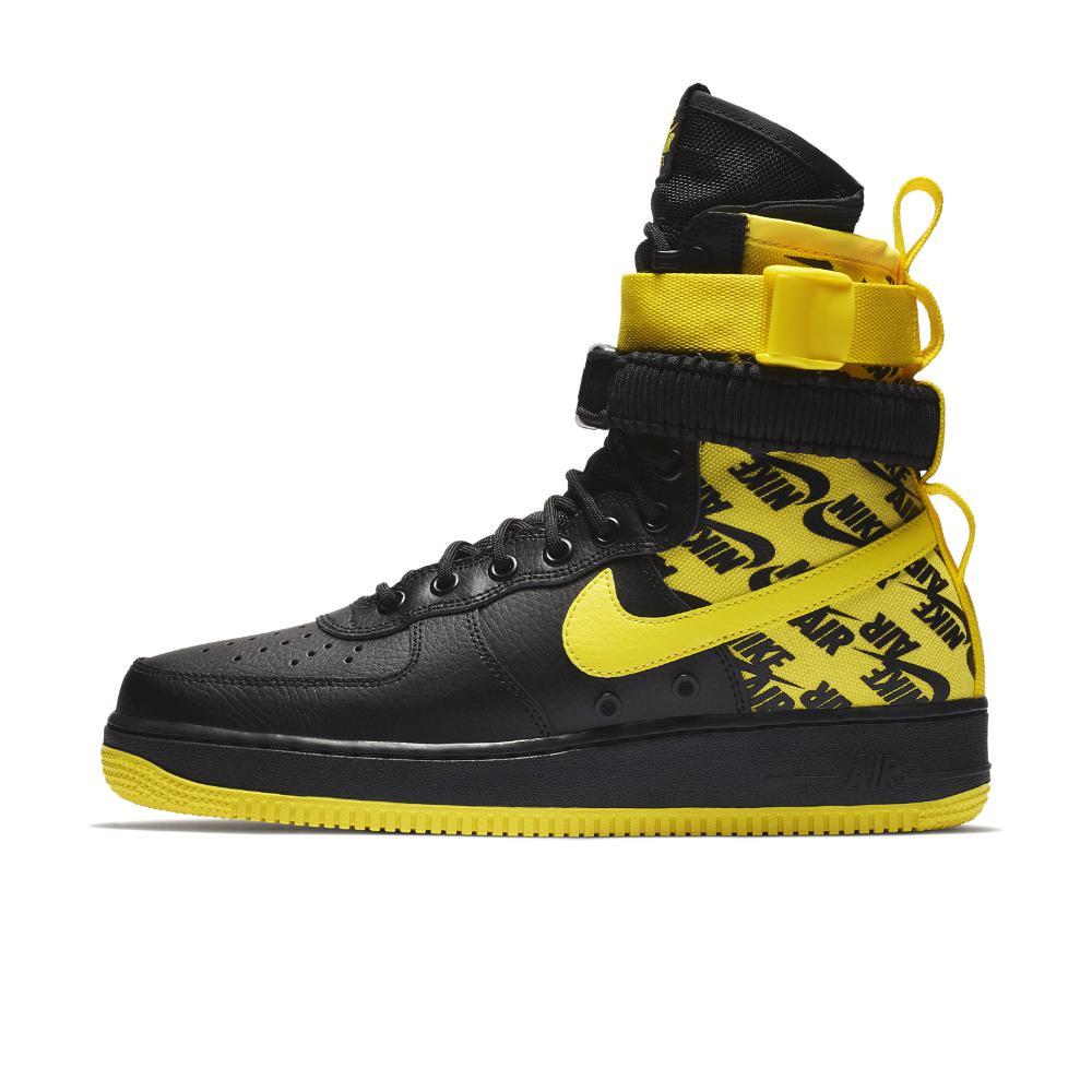 01ac31ecdaad Lyst - Nike Sf Air Force 1 Hi Men s Boot in Yellow for Men