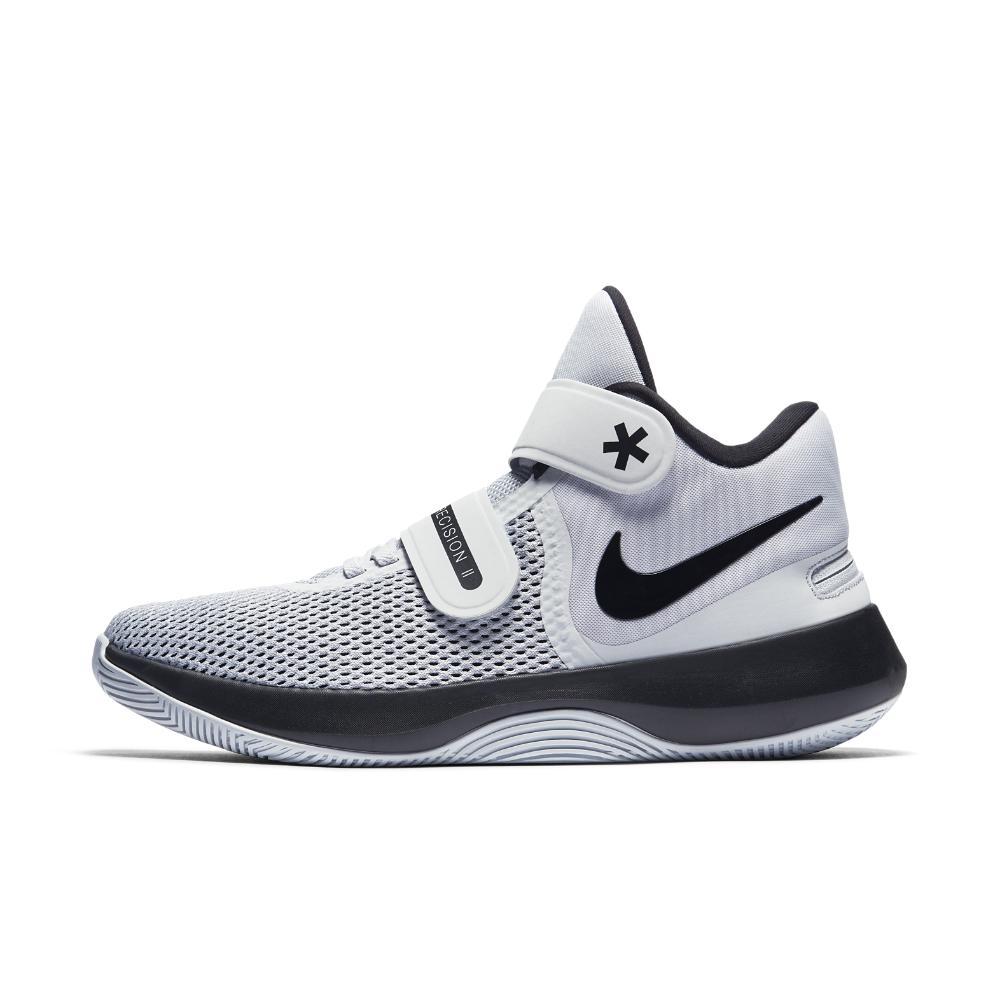 299065a26bba2b ... where to buy lyst nike air air air precision ii flyease homme  basketball shoe in blanc