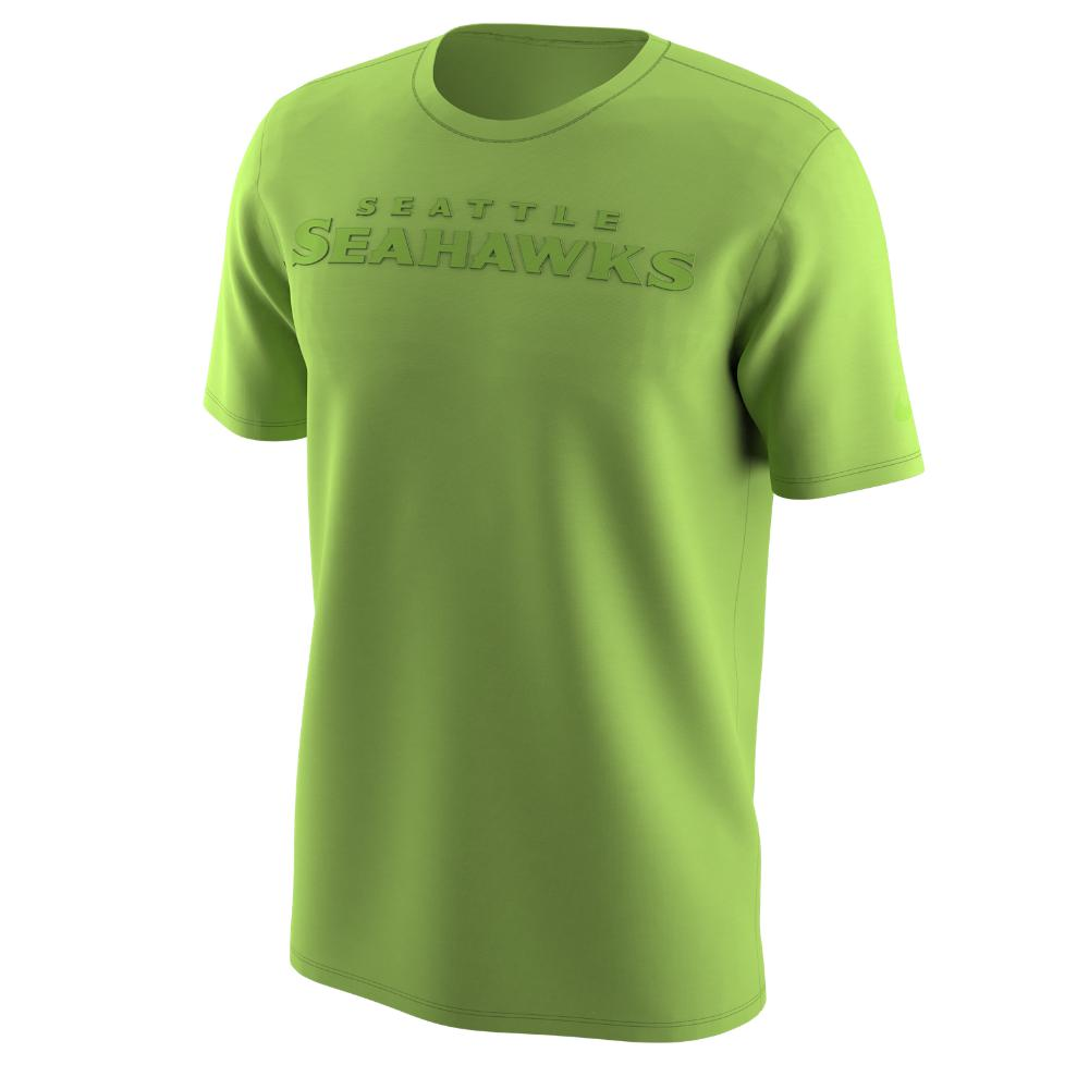 04f480bb5 Lyst - Nike Color Rush Wordmark (nfl Seahawks) Men s T-shirt in ...