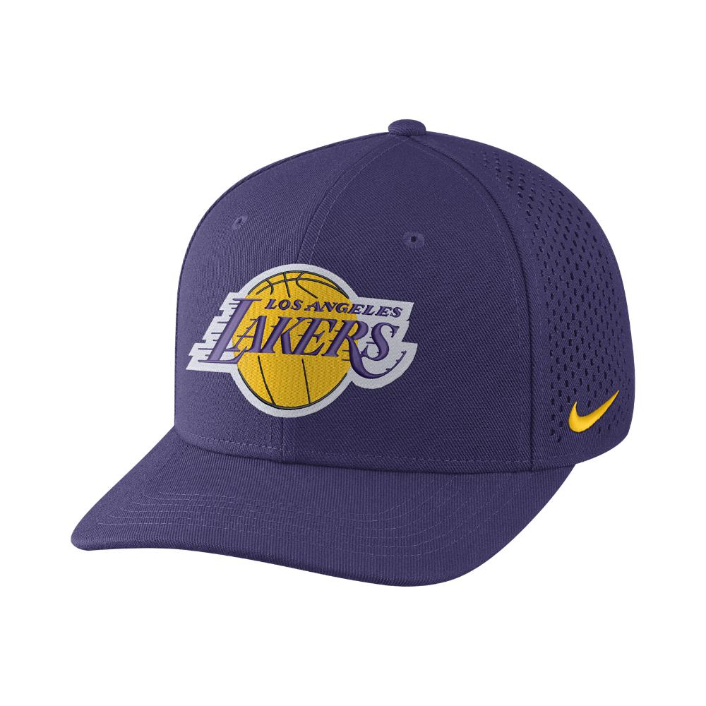 online retailer 4e830 b74ff Nike Los Angeles Lakers Aerobill Classic99 Adjustable Nba Hat ...