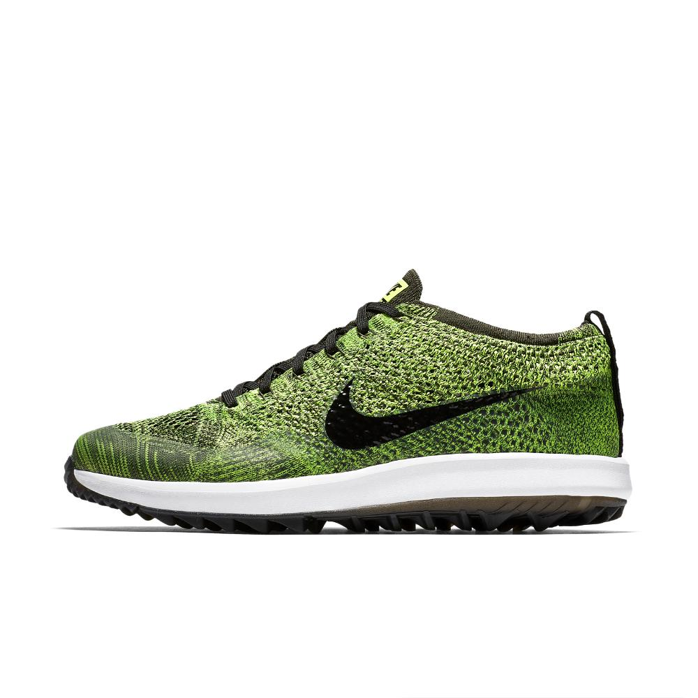 2f26735b4a4ee Lyst - Nike Flyknit Racer G Men s Golf Shoe in Green for Men