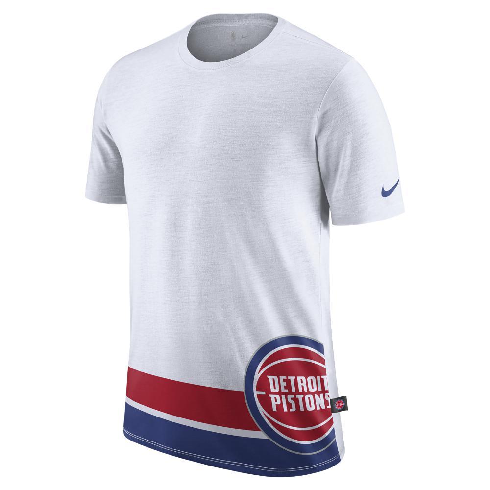 Lyst - Nike Detroit Pistons Dry Men s Nba T-shirt in White for Men 50e0ed114