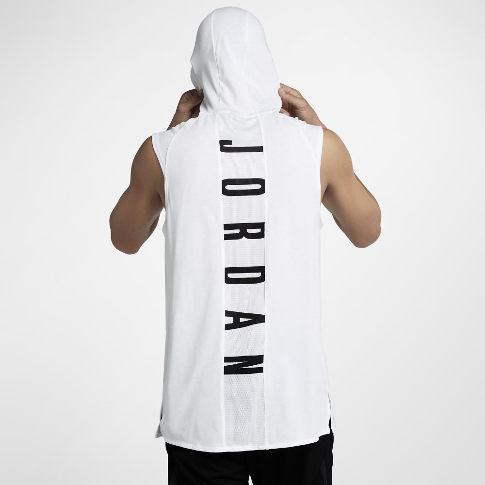 ee6155c5a5bb8 Lyst - Nike 23 Alpha Men s Hooded Sleeveless Training Top