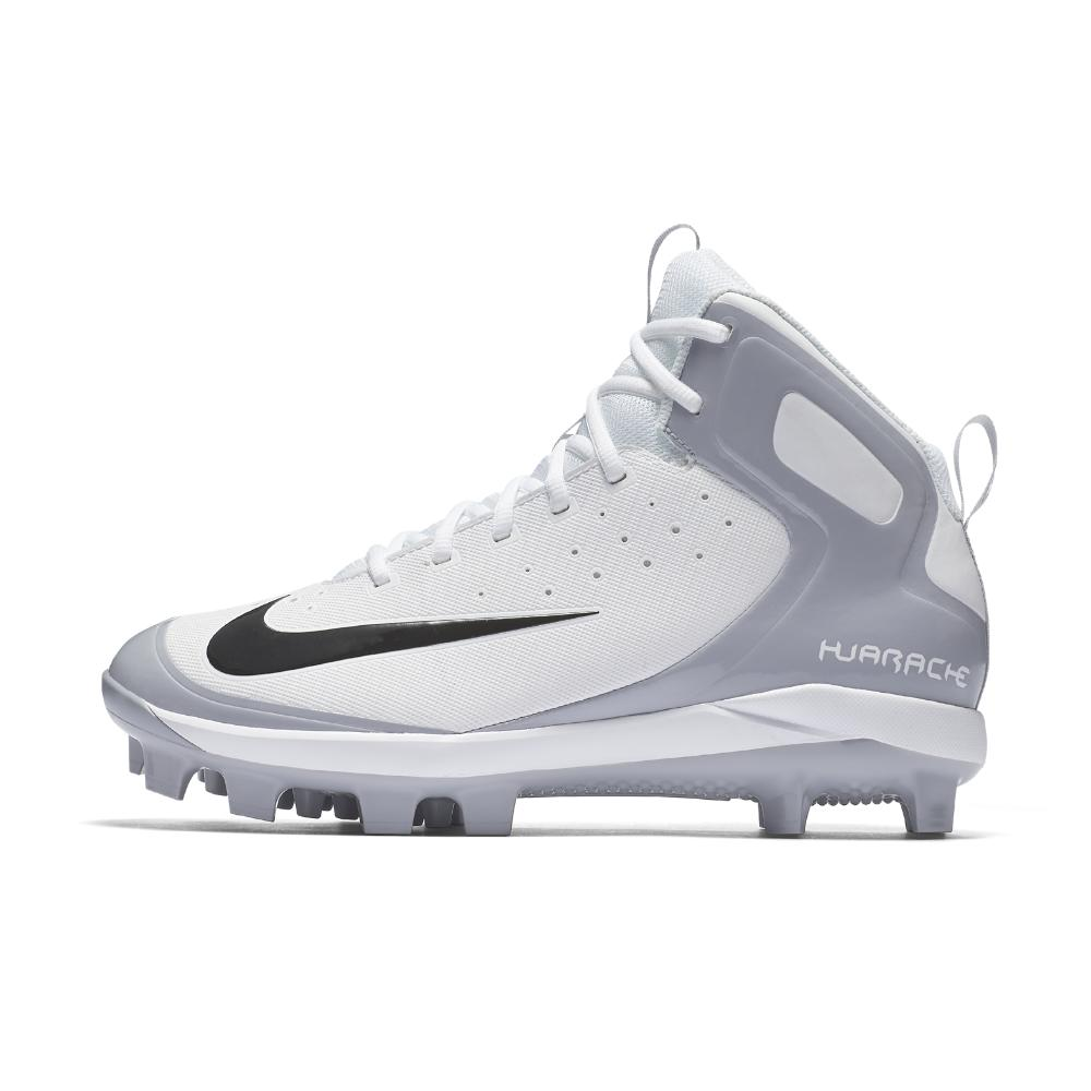 cabd7e315bc Nike Alpha Huarache Pro Mid Mcs Men s Baseball Cleats in Gray for ...