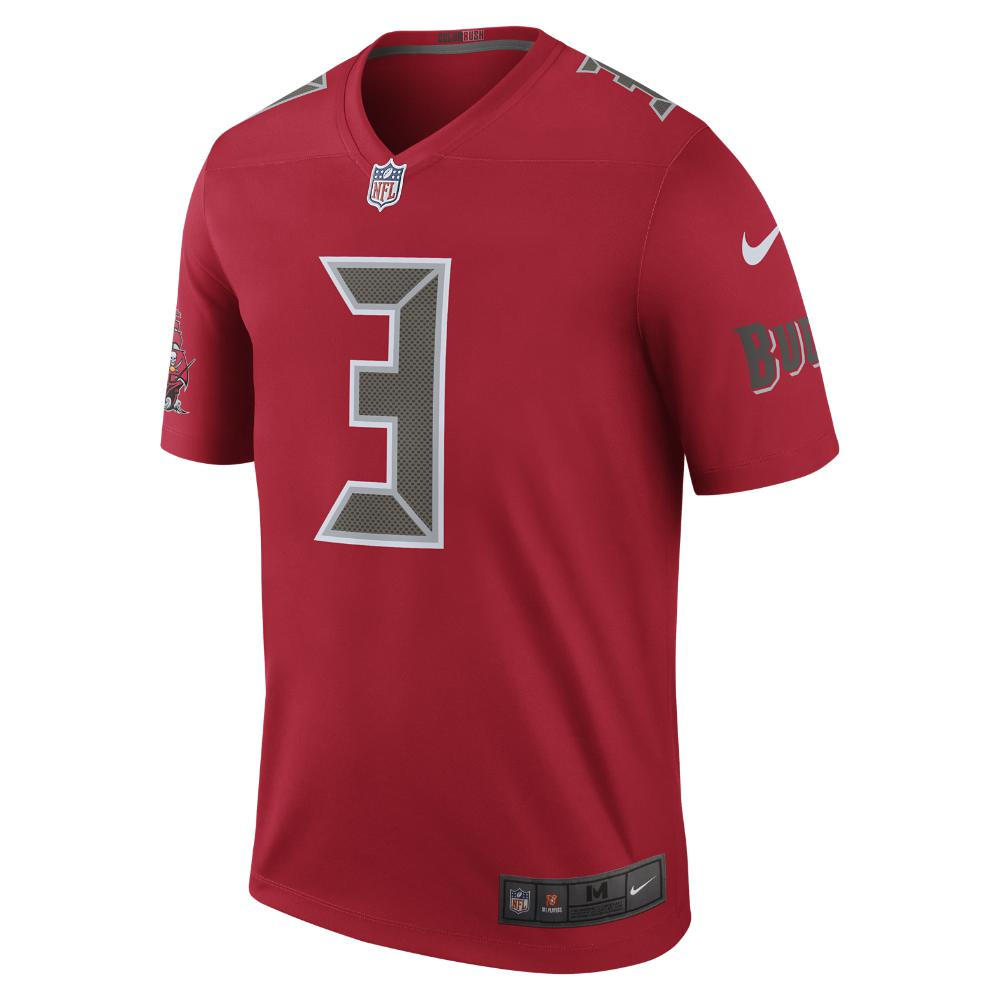42bd15c46 Nike. Red Nfl Tampa Bay Buccaneers Color Rush Legend (jameis Winston) Men s  Football Jersey