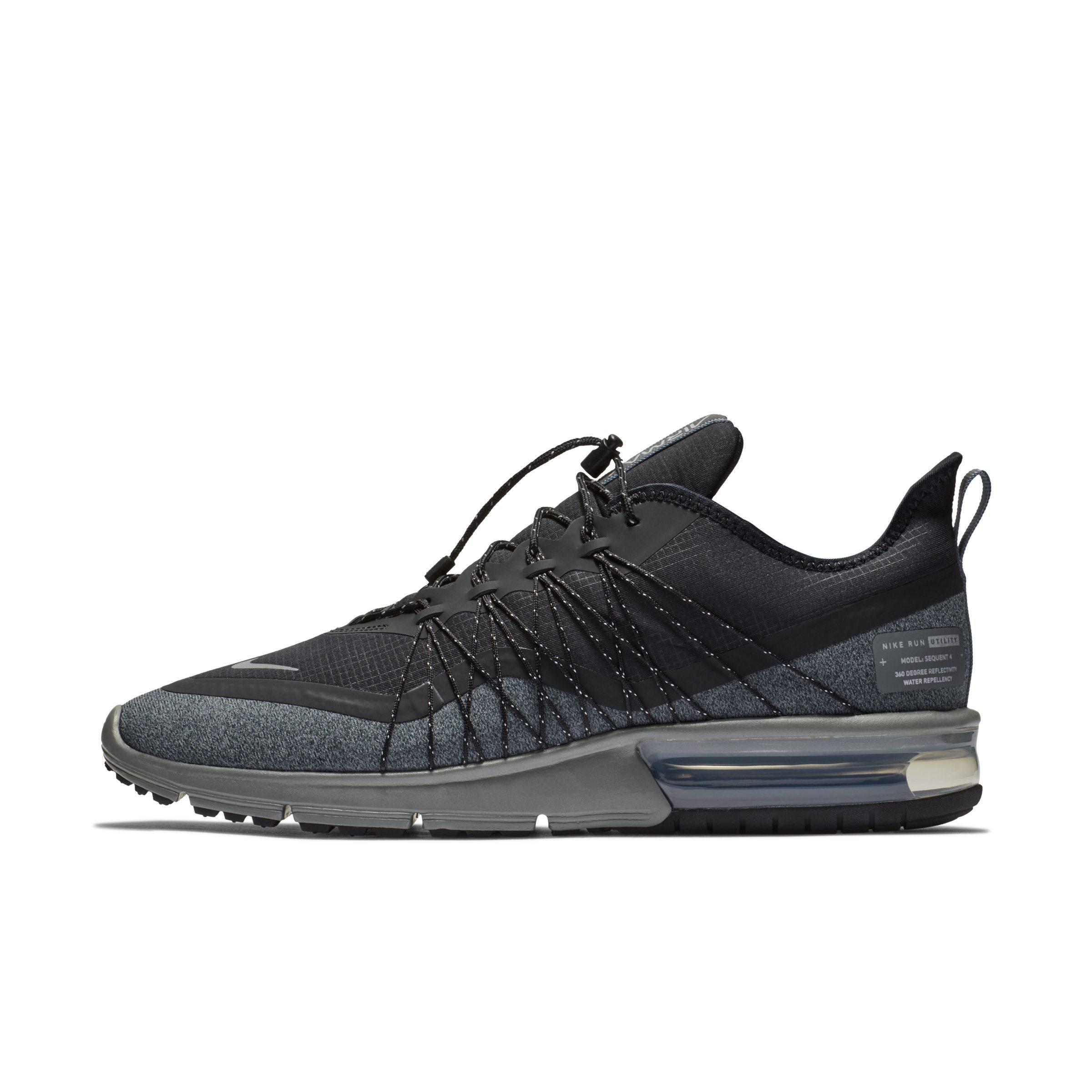 b0c0668d281 Nike Air Max Sequent 4 Shield Shoe in Black for Men - Lyst