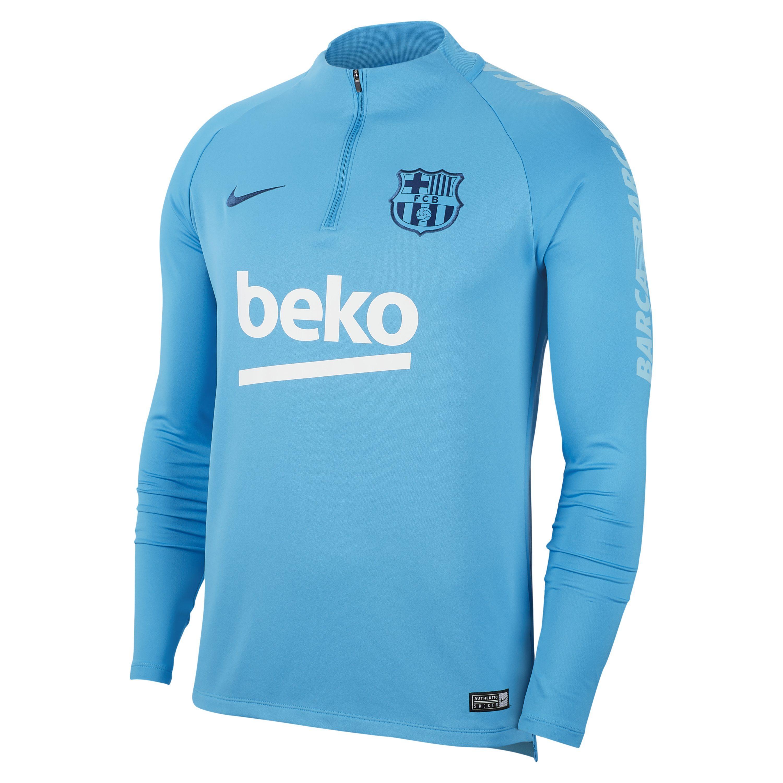 c92d997ee Nike - Blue Fc Barcelona Dri-fit Squad Drill Long-sleeve Football Top for.  View fullscreen