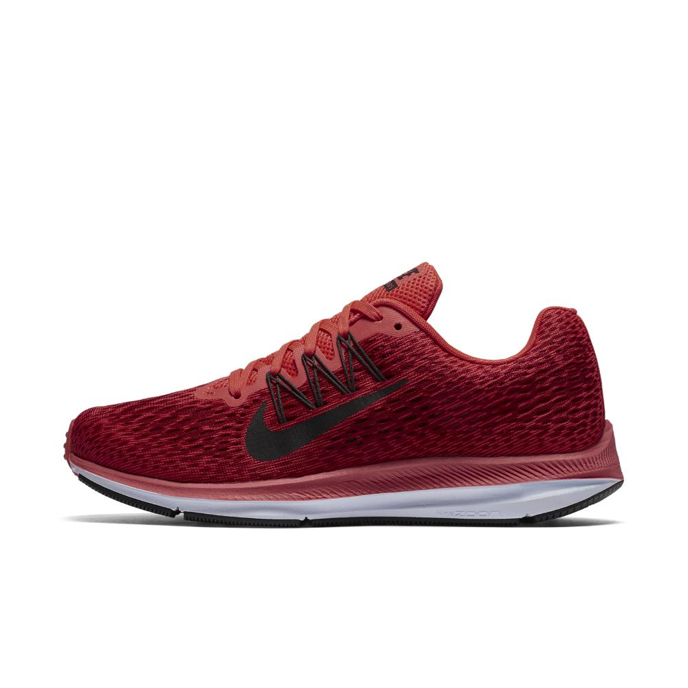 3ef9c82f7f3 ... official lyst nike air zoom winflo 5 womens running shoe in red 09514  e2383