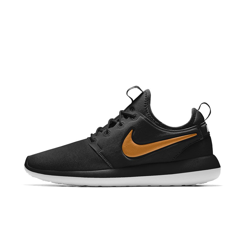 8271dacfbf06 Lyst - Nike Roshe Two Id Women s Shoe in Black - Save 11%