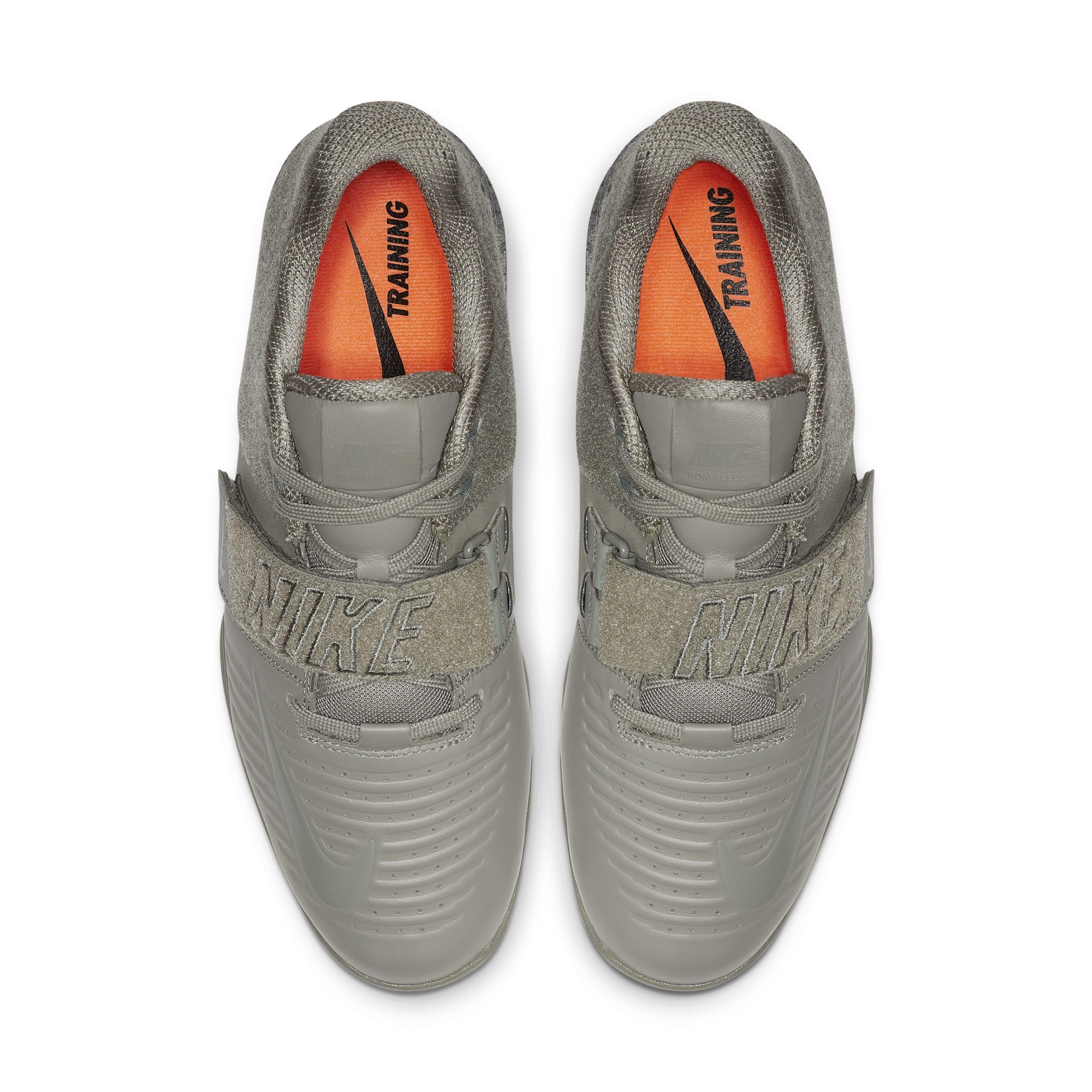 c09a65d5 Nike Romaleos 3 Xd Patch Training Shoe in Gray for Men - Lyst