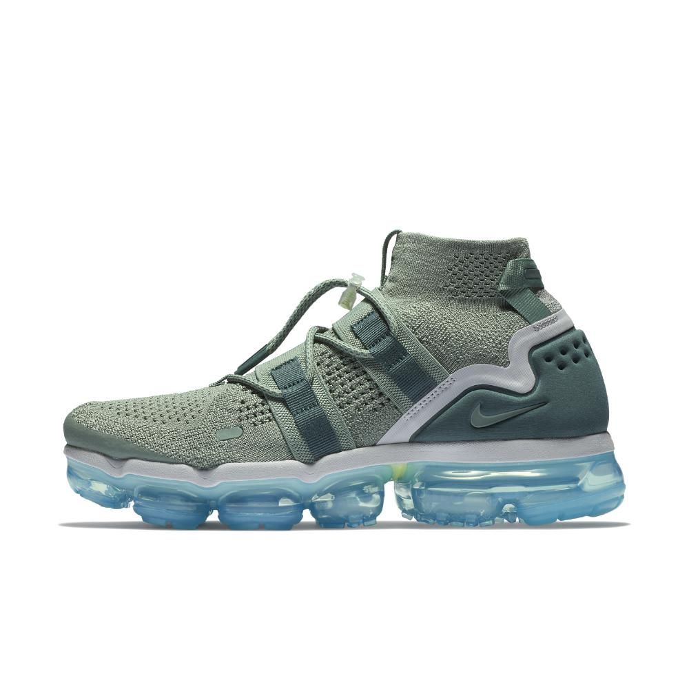 Lyst - Nike Air Vapormax Flyknit Utility Running Shoe in Green for Men 64dc8c4a5