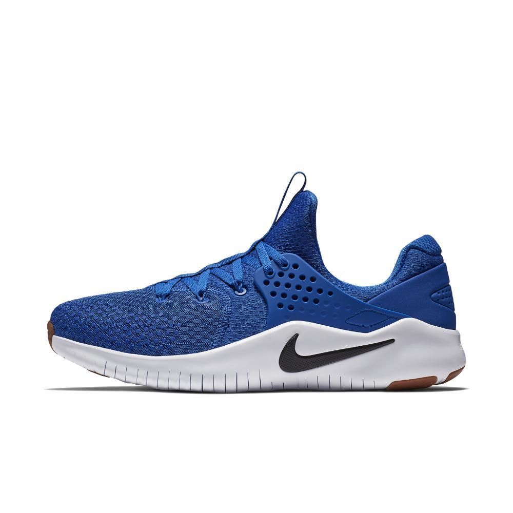 b32bac31710b9 Lyst - Nike Free Tr V8 Men s Training Shoe in Blue for Men