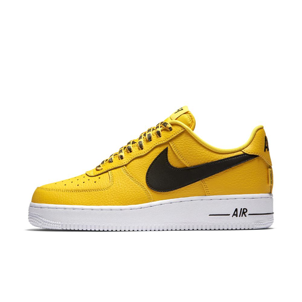 f9bd91eb888 Lyst - Nike Air Force 1 Low 07 Nba Men s Shoe in Yellow for Men