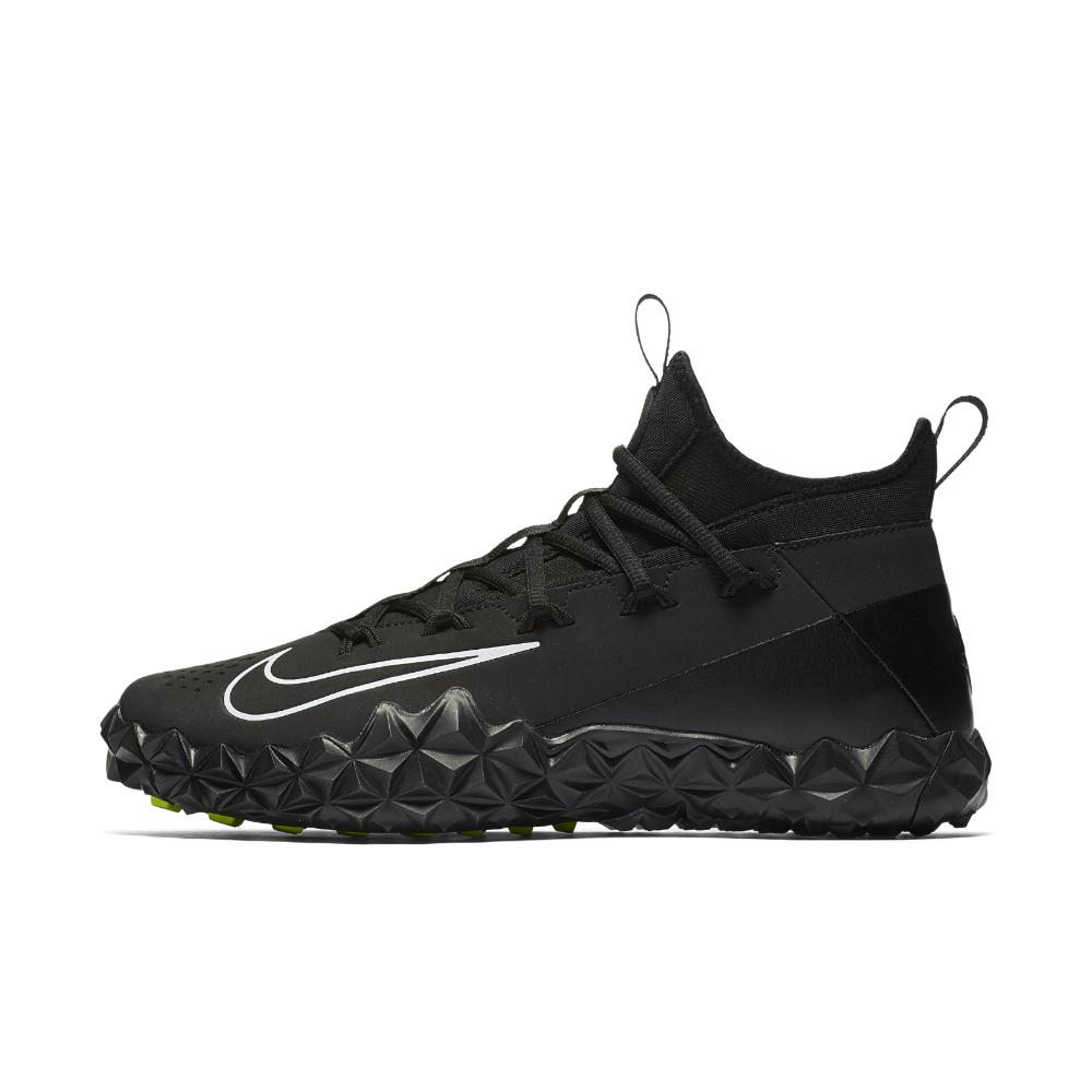 f38daf3b4498 Lyst - Nike Alpha Huarache 6 Elite Turf Lax Lacrosse Cleat in Black ...