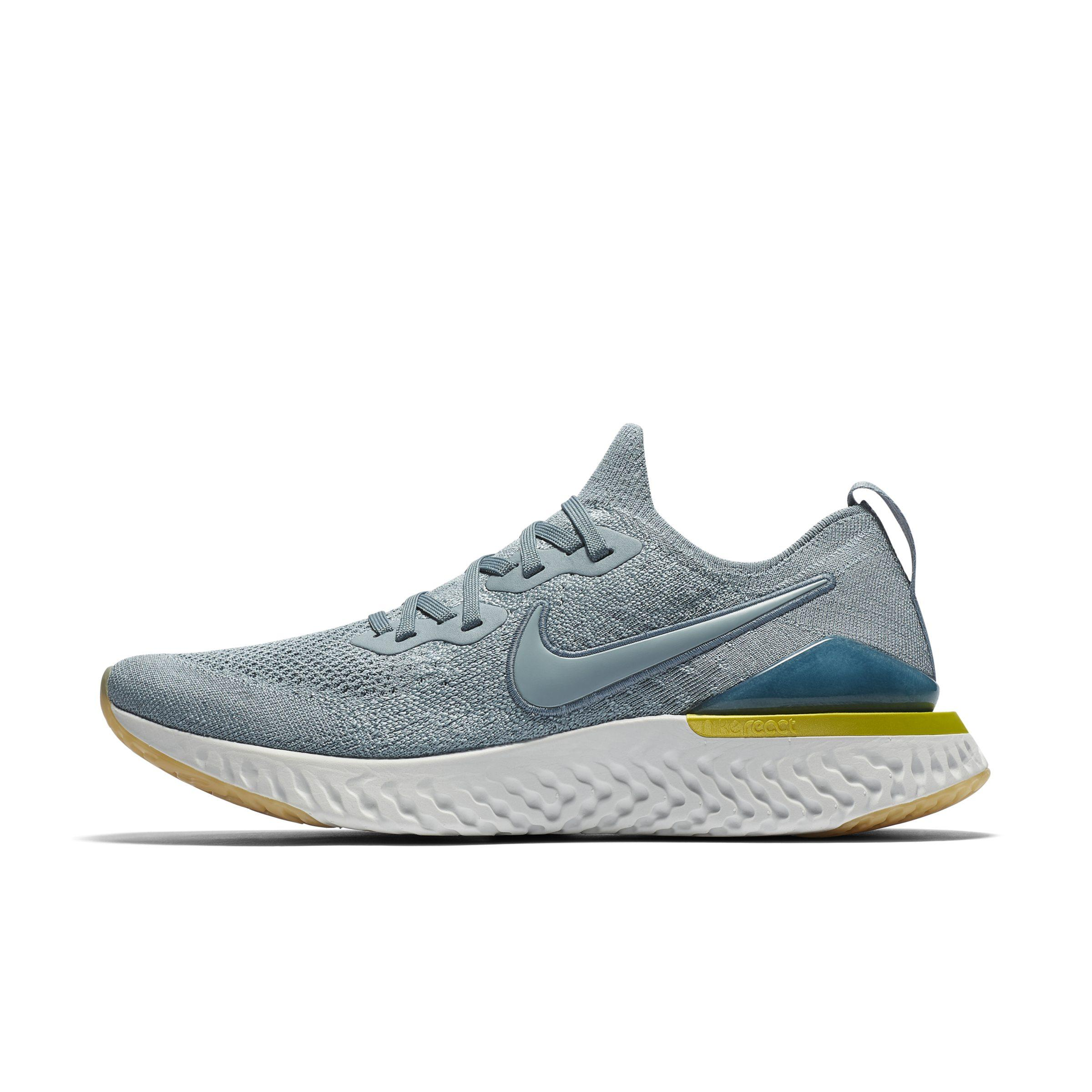 0c0129c6a10cb Nike Epic React Flyknit 2 Running Shoe in Gray for Men - Lyst
