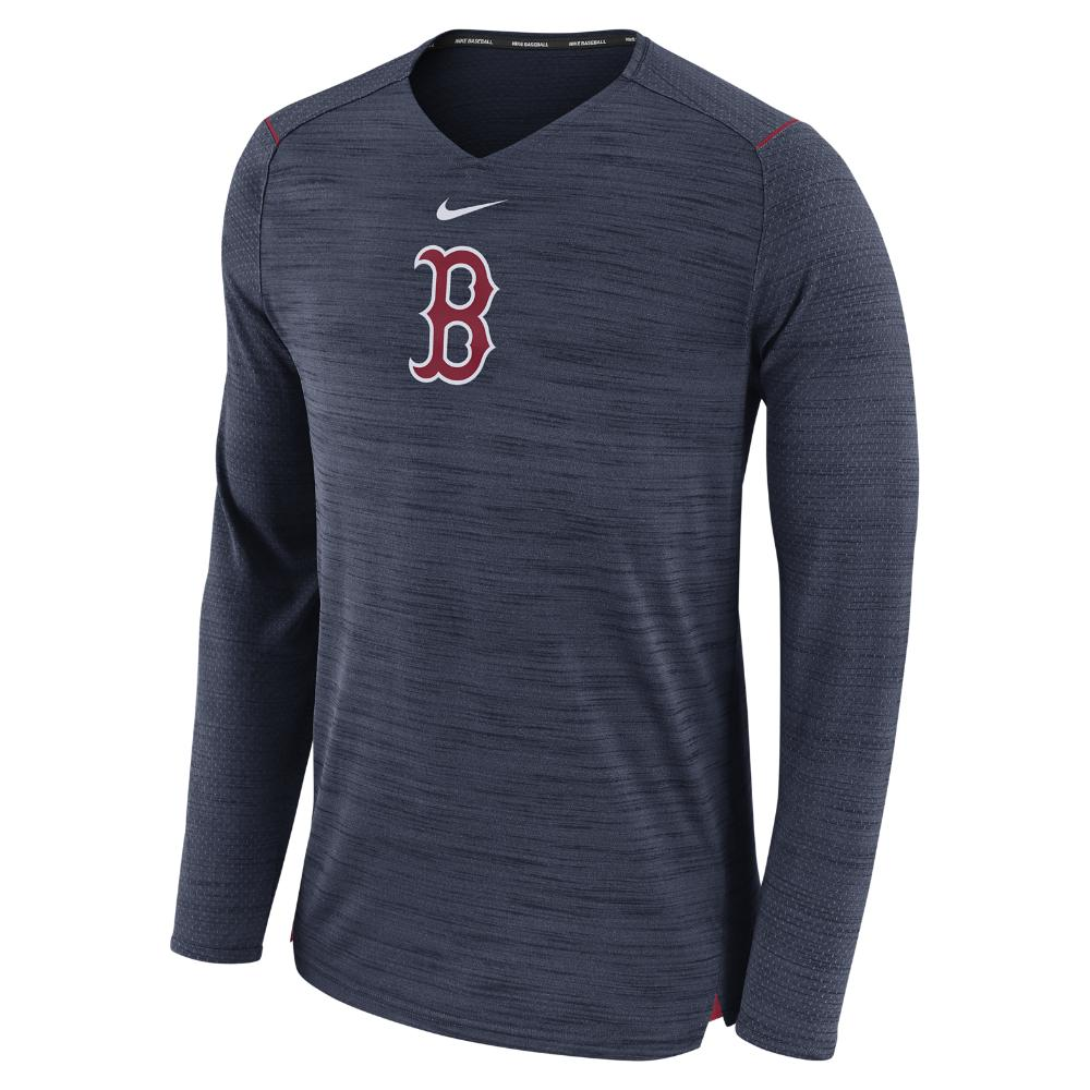 412a5ff8bb4 Lyst - Nike Breathe (mlb Red Sox) Men s Long Sleeve Top in Blue for Men