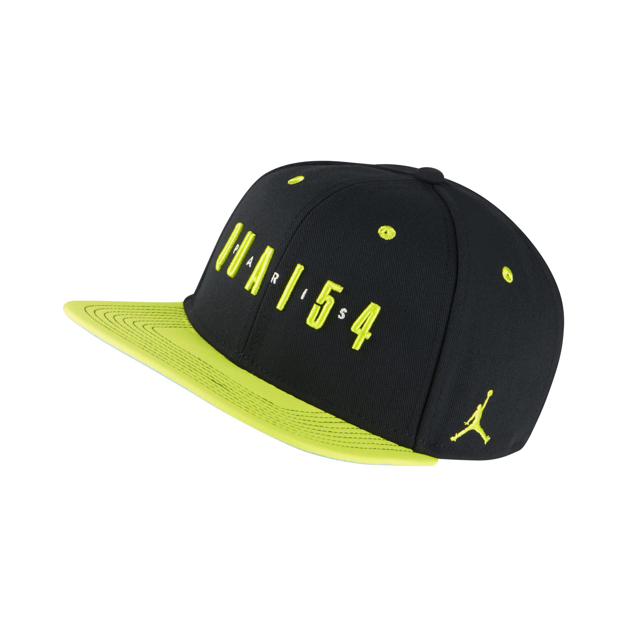 ... cheap nike jordan quai 54 snapback adjustable hat in black lyst 03f16  e5da8 ... 53ef6293440