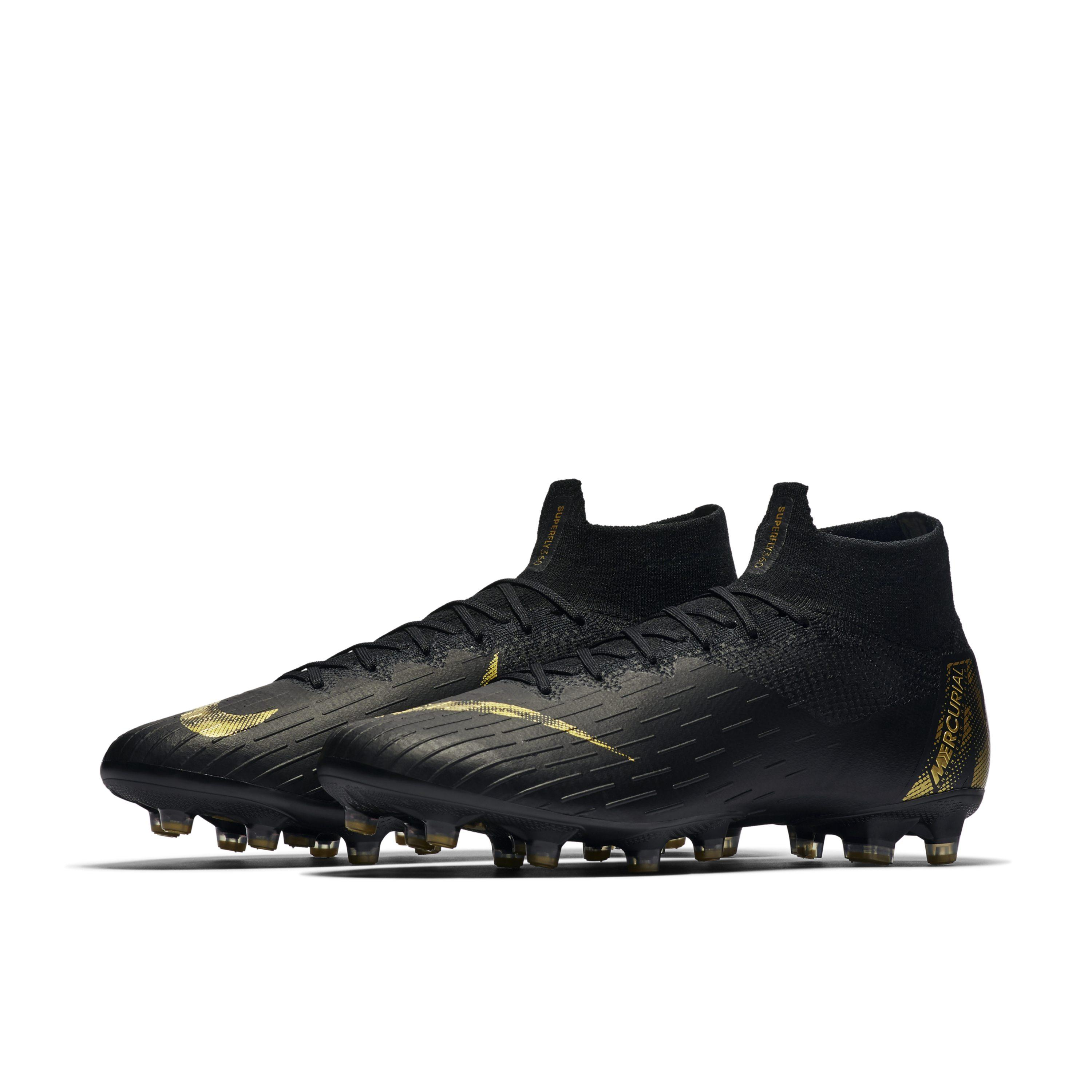 43be7be21b5 Nike - Black Mercurial Superfly 360 Elite Ag-pro Artificial-grass Football  Boot for. View fullscreen