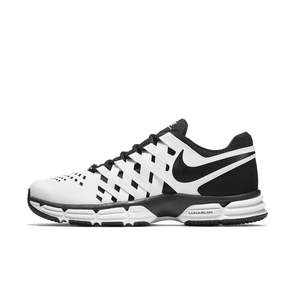 Nike. White Lunar Fingertrap Tr Men's Training Shoe