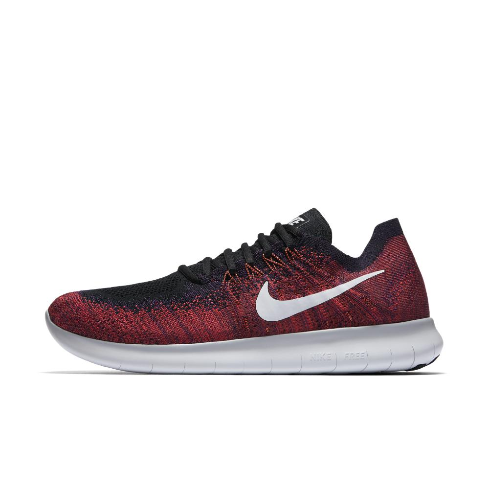 3789b926a98ad Lyst - Nike Free Rn Flyknit 2017 Men s Running Shoe in Red for Men