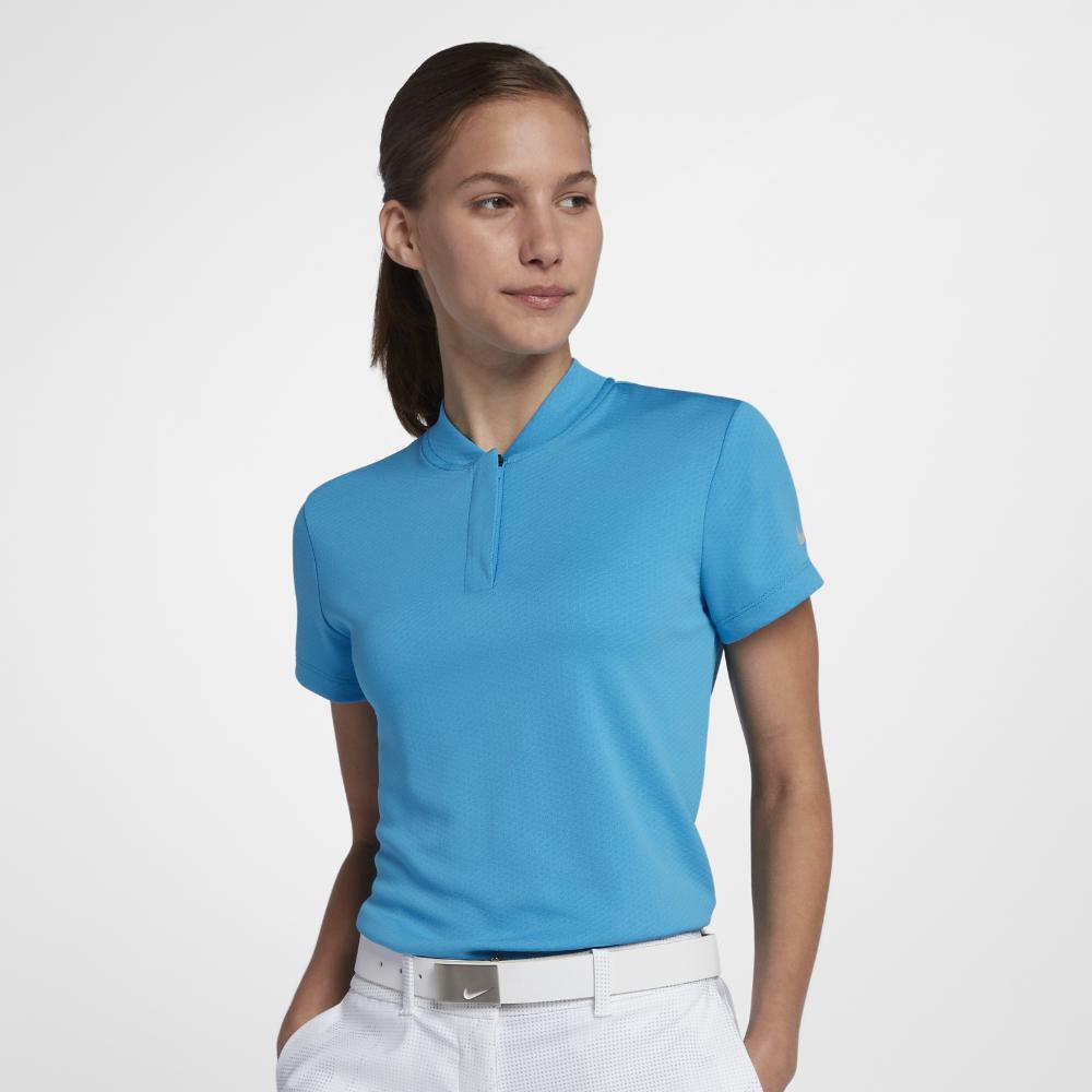 e03b00f915 Nike Dri-fit Women's Golf Polo Shirt in Blue - Lyst