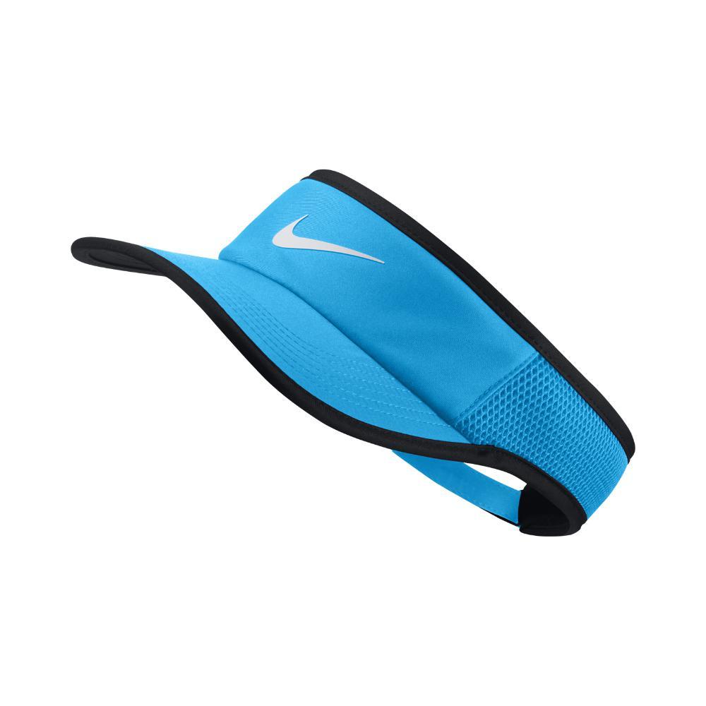 Lyst - Nike Court Aerobill Featherlight Tennis Visor (blue) in Blue cd6efe122ddd