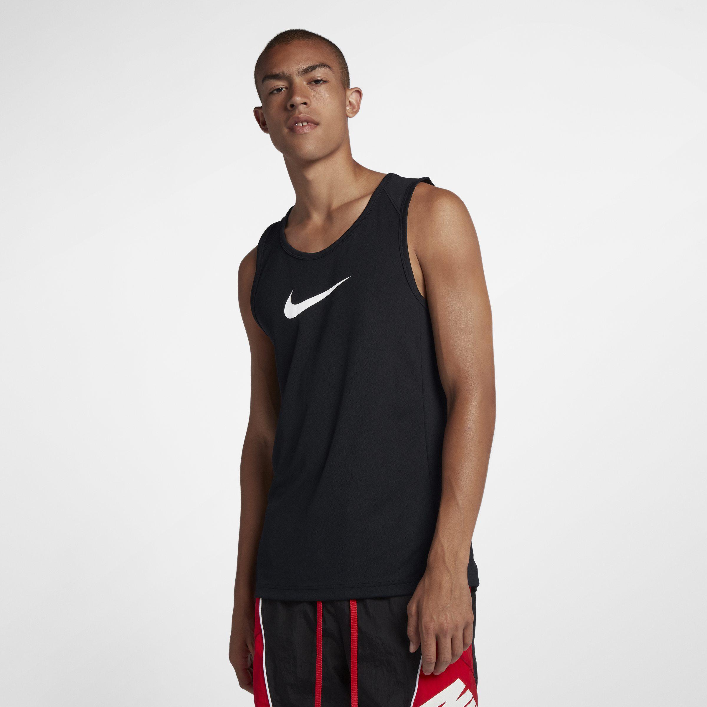 437cb18b28a95 Nike Dri-fit Basketball Tank in Black for Men - Save 26% - Lyst