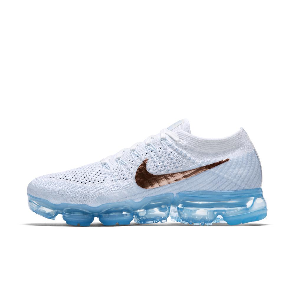 best sneakers befae 4edcc Nike - Blue Air Vapormax Flyknit Explorer Women s Running Shoe - Lyst