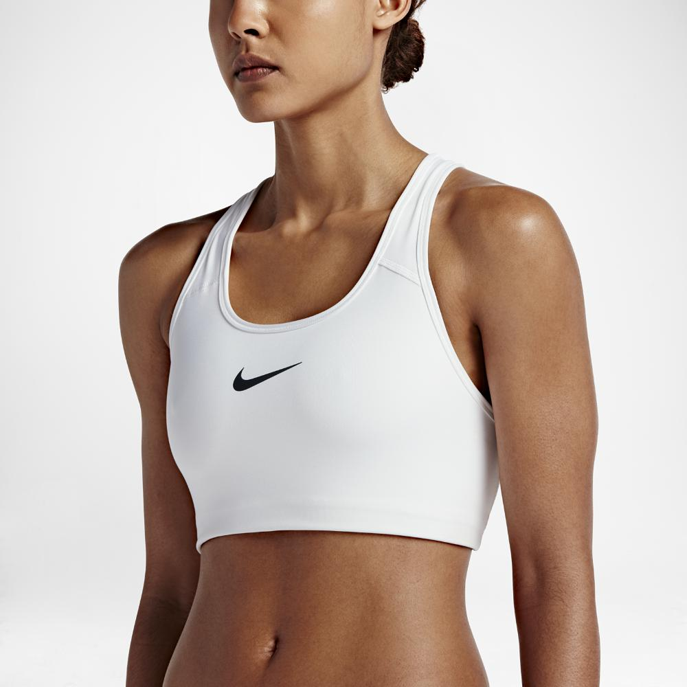 66f84554837c4 Lyst - Nike Pro Classic Swoosh Women s Medium Support Sports Bra in ...