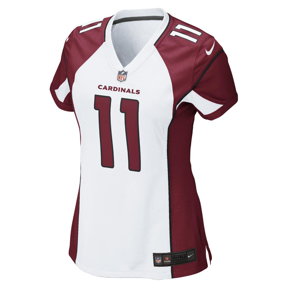 Nike. Red Nfl Arizona Cardinals (larry Fitzgerald) Women s Football Away  Game Jersey 62e67b6cf2