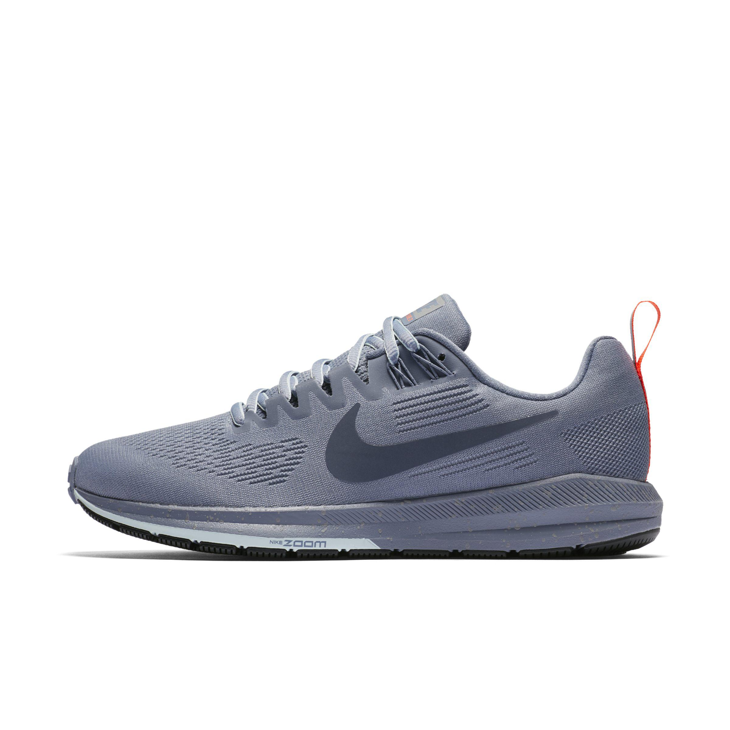 Nike Air Zoom Structure 21 Shield Running Shoe in Blue - Lyst bbdd8c638