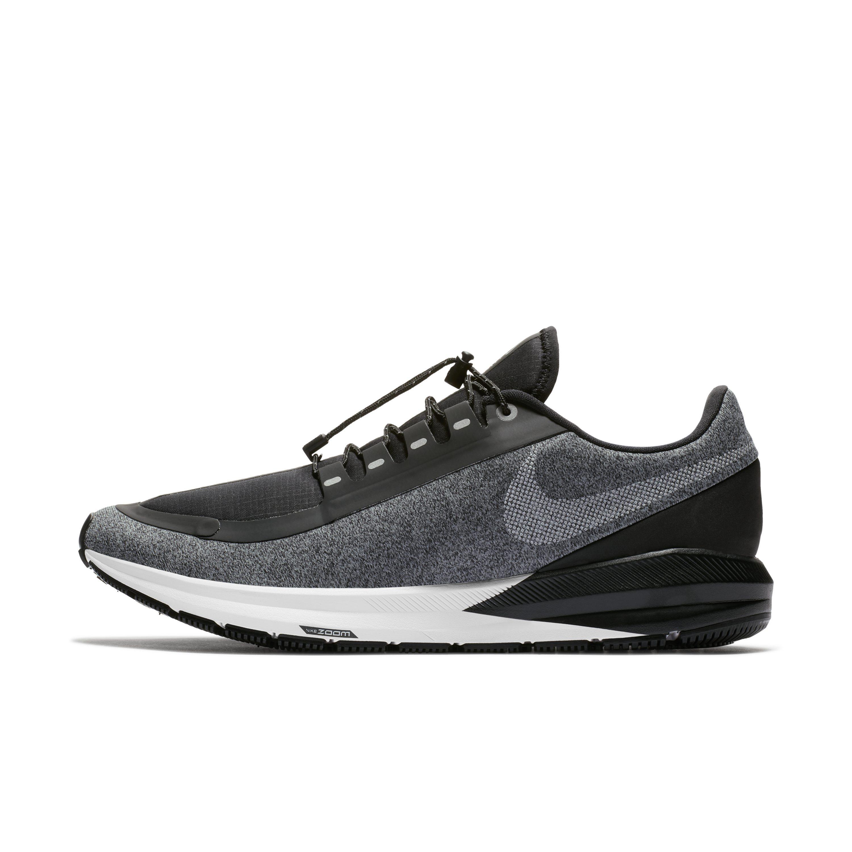 c8c81ffdf6021 Nike. Men s Black Air Zoom Structure 22 Shield Water-repellent Running Shoe