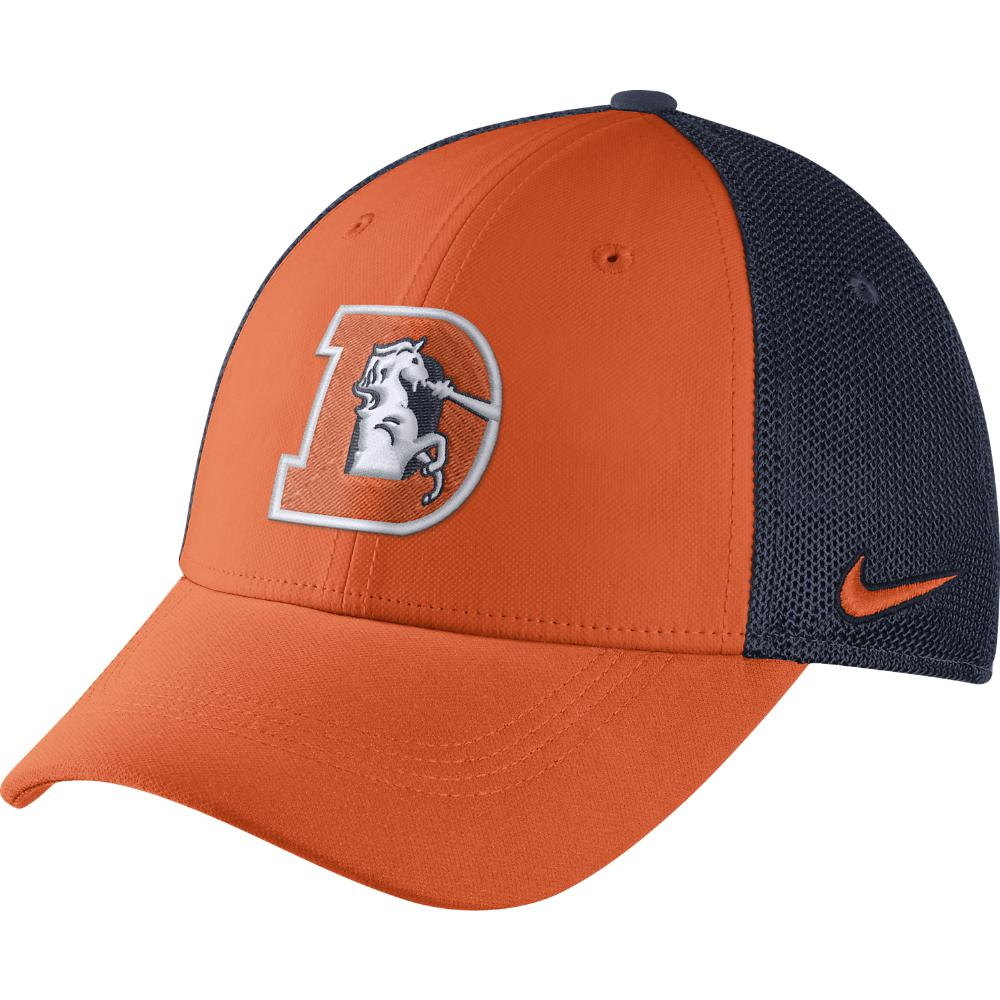 Lyst - Nike Color Rush Swoosh Flex (nfl Broncos) Fitted Hat in ... 0f825e07ecd