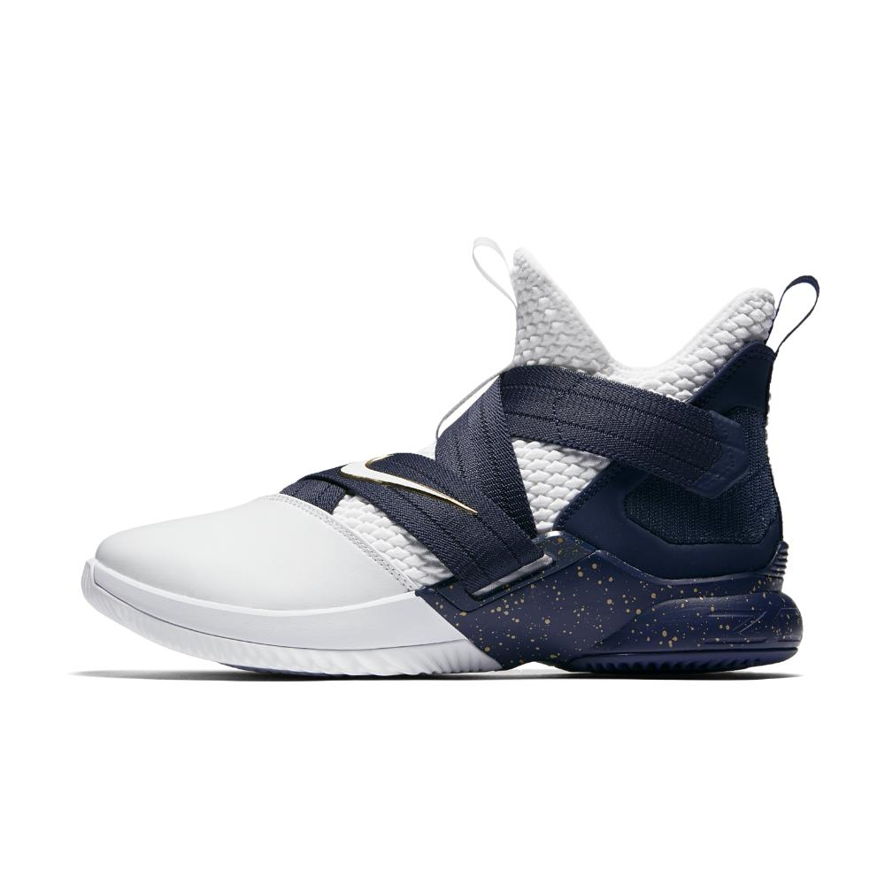 81ae2e2a092 Lyst - Nike Lebron Soldier Xii Sfg Basketball Shoe in Blue for Men
