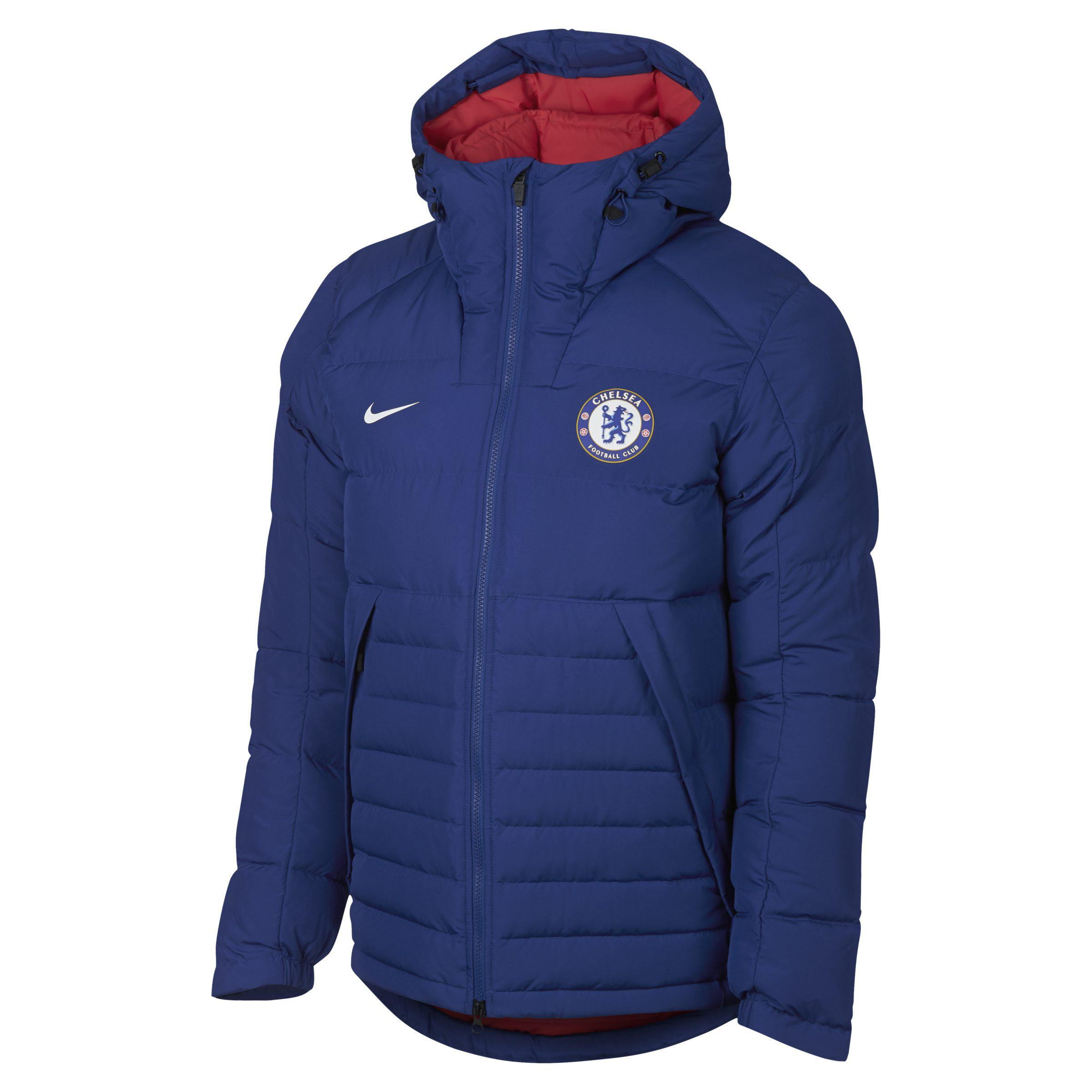 cbbc24a05 Nike Chelsea Fc Down Jacket in Blue for Men - Lyst