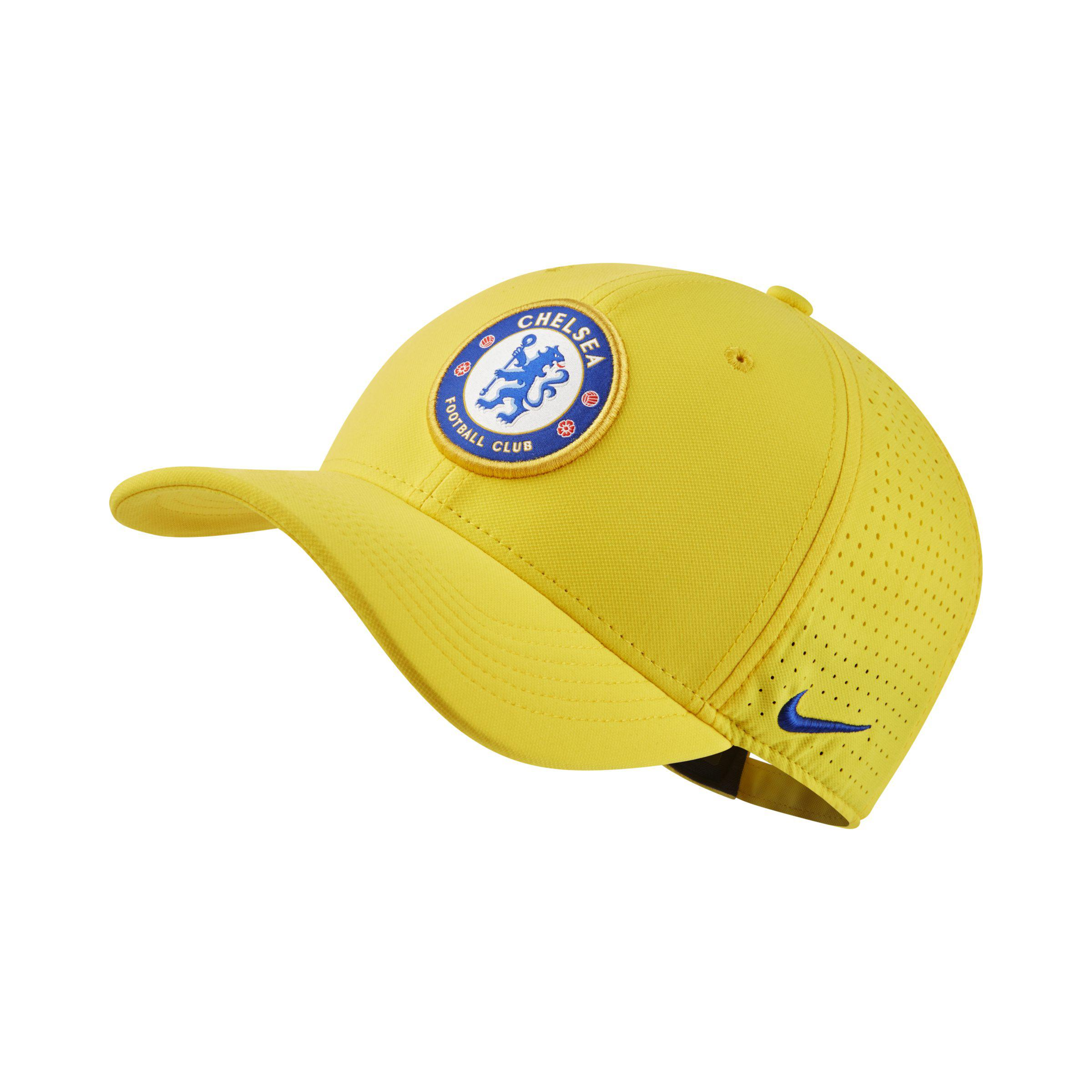 Nike Chelsea Fc Aerobill Classic99 Adjustable Hat in Yellow - Lyst da0d05326d7