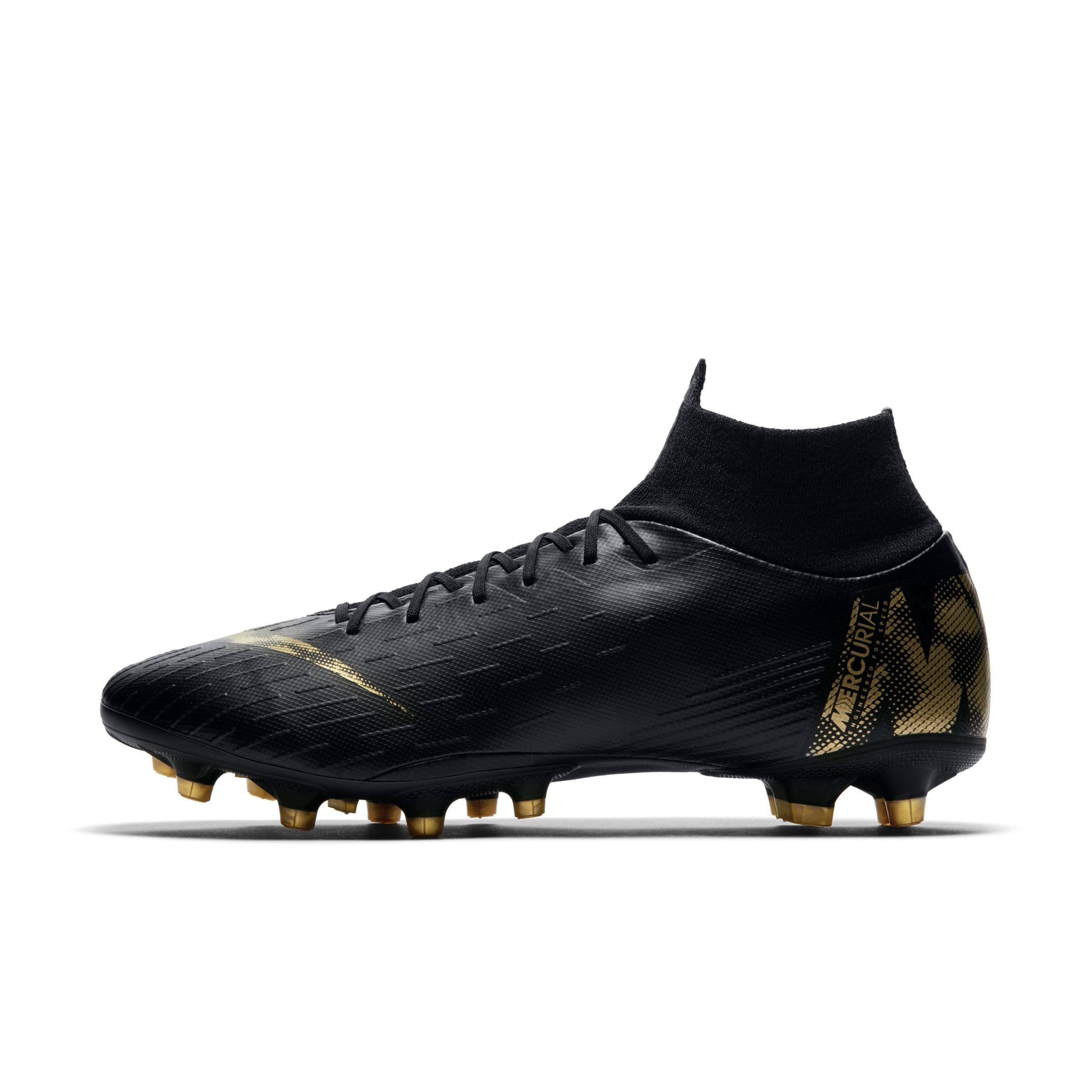 b7fea6115d8 Nike. Women s Black Mercurial Superfly Vi Pro Ag-pro Artificial-grass  Football Boot