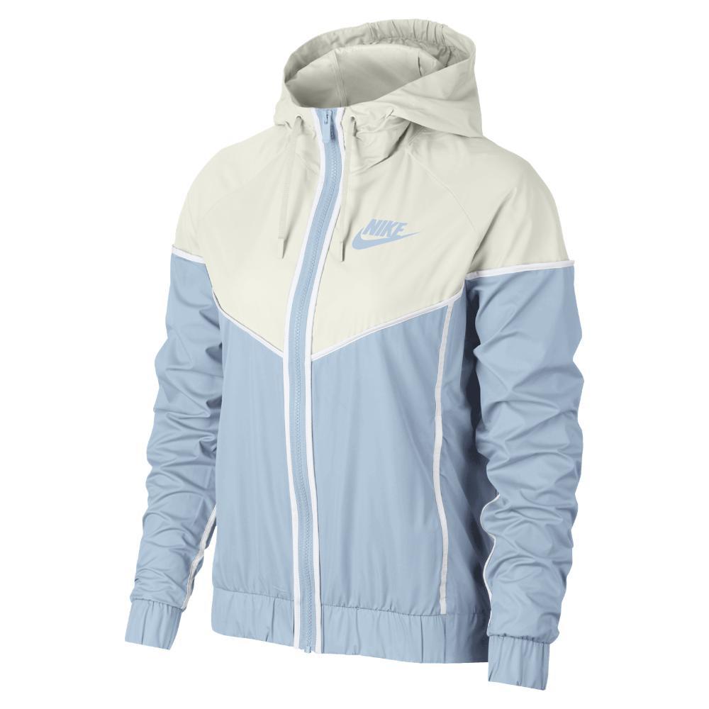 Lyst - Nike Sportswear Windrunner Women s Jacket in Blue 52b0bee2a