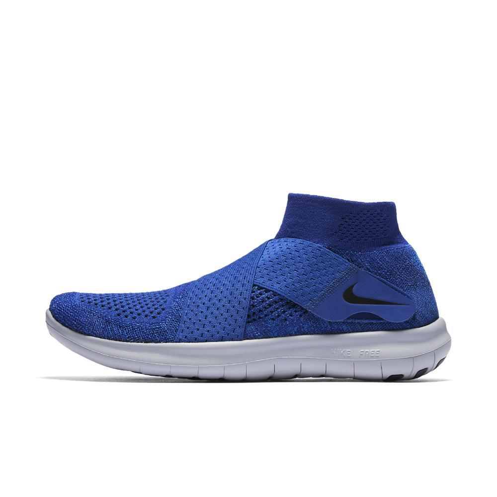 528d8bad3846 Nike - Blue Free Rn Motion Flyknit 2017 Men s Running Shoe for Men - Lyst