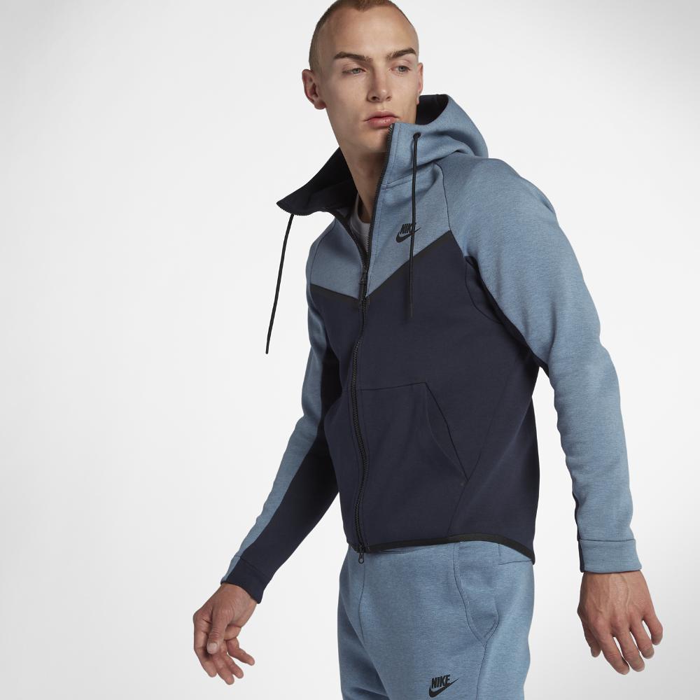 4e6ef7c1f9 Lyst - Nike Sportswear Tech Fleece Windrunner Men s Full-zip Hoodie ...