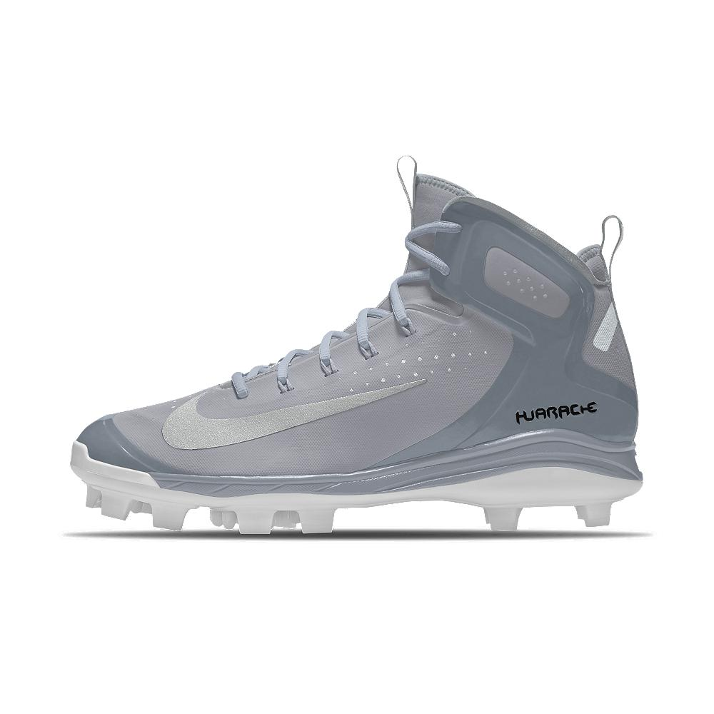 2bd2b09b6 Long-Touch to Zoom. Nike - Gray Alpha Huarache Elite Mid Mcs Id Men s  Baseball Cleats for Men - Lyst. View fullscreen
