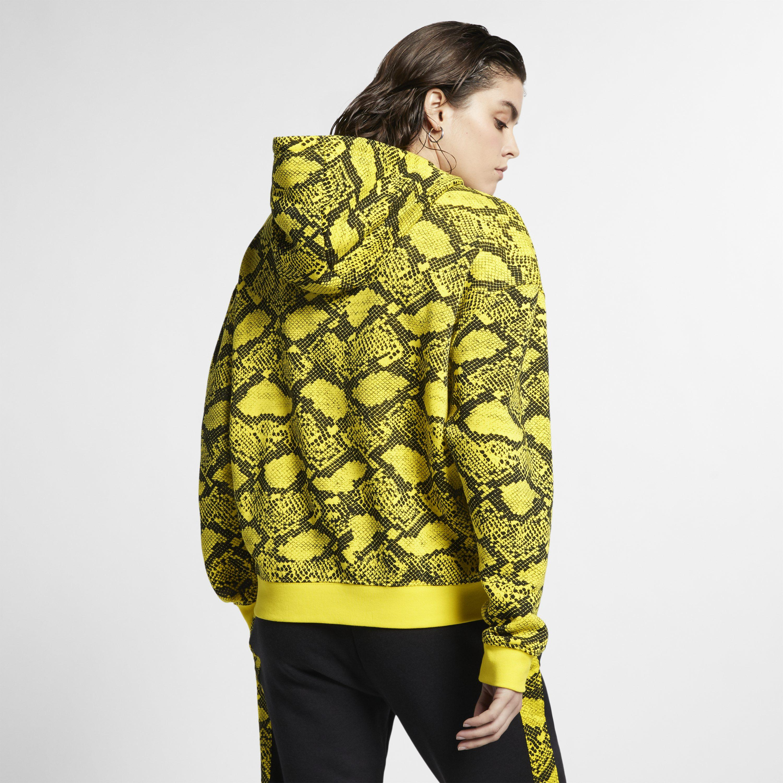 0660e623c3ec Nike - Yellow Sportswear Animal Hoodie - Lyst. View fullscreen