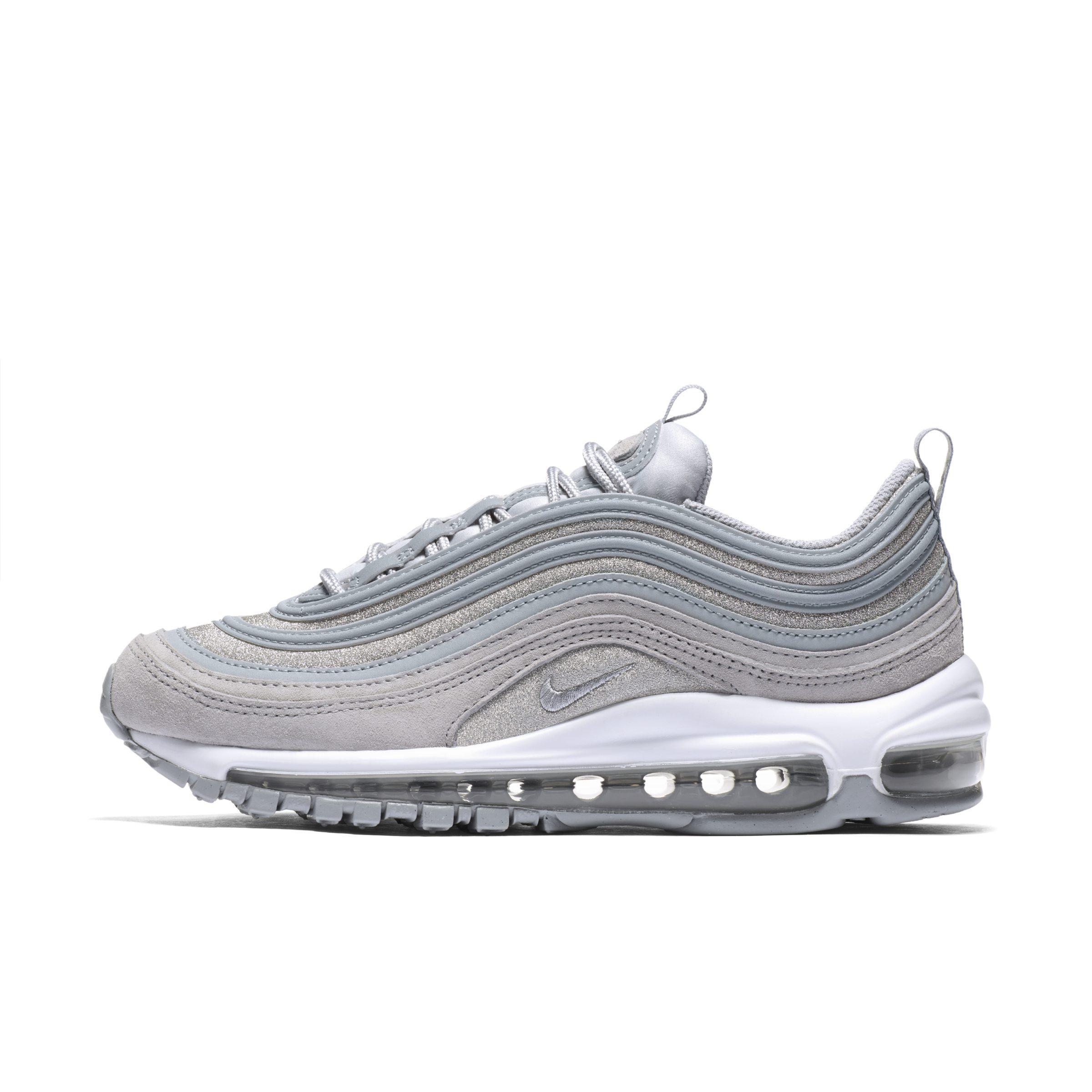 196d32916b38 Nike Air Max 97 Glitter Shoe in Gray - Lyst